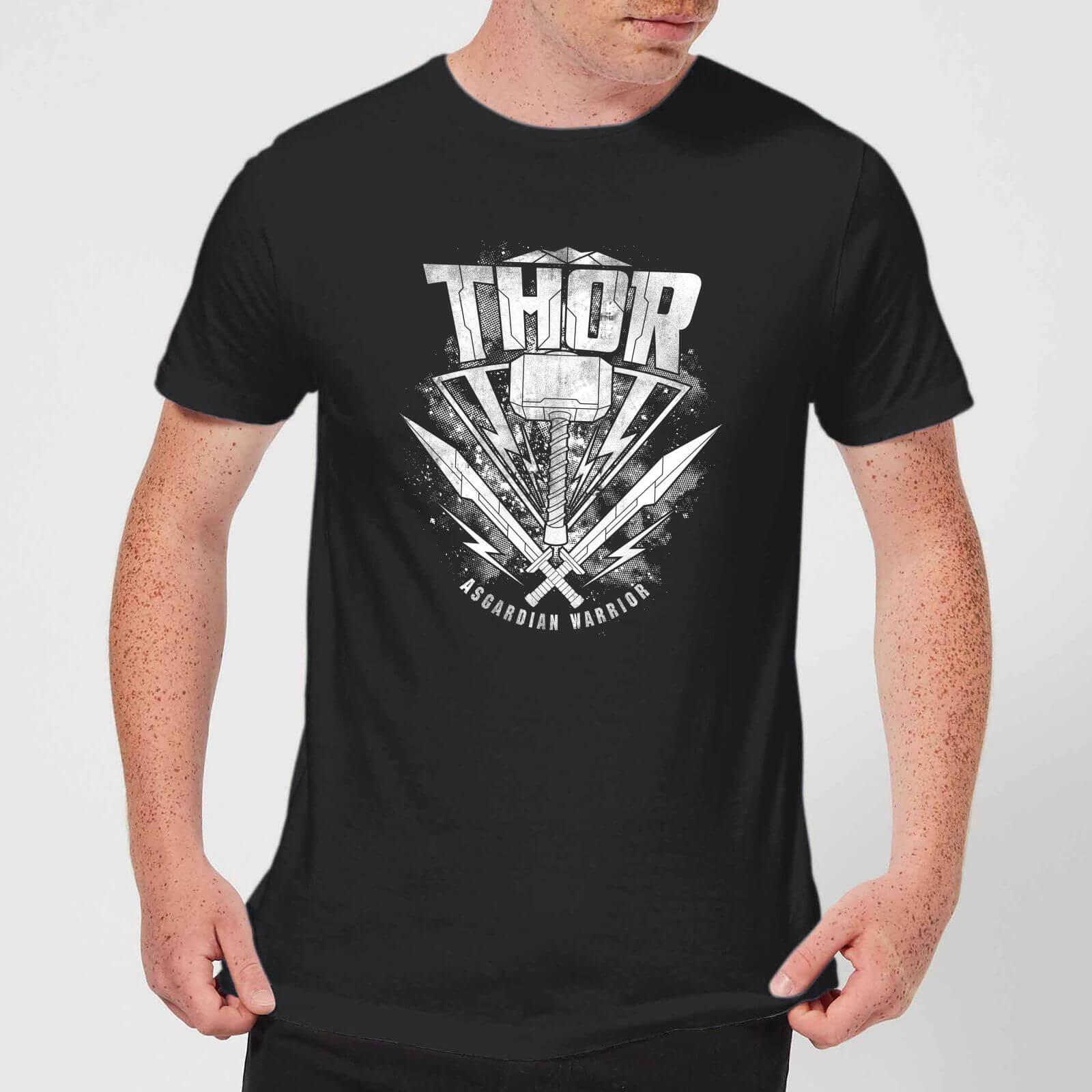 OfferteWeb.click 03-marvel-thor-ragnarok-thor-hammer-logo-men-s-t-shirt-black