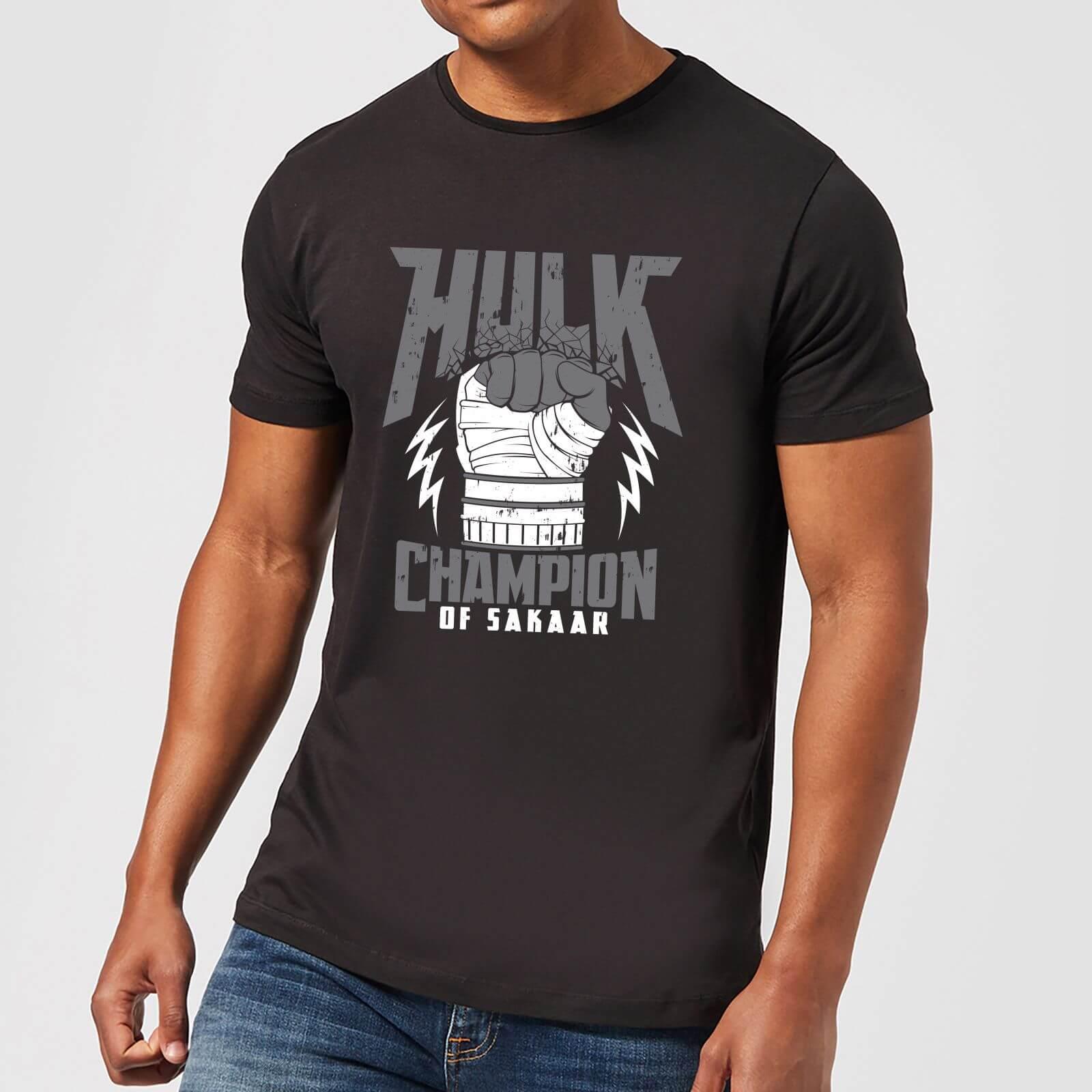 OfferteWeb.click 16-t-shirt-marvel-thor-ragnarok-hulk-champion-nero-uomo