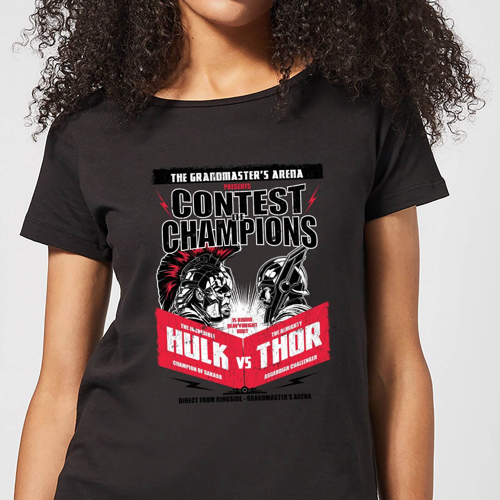 OfferteWeb.click 62-t-shirt-marvel-thor-ragnarok-champions-poster-nero-donna
