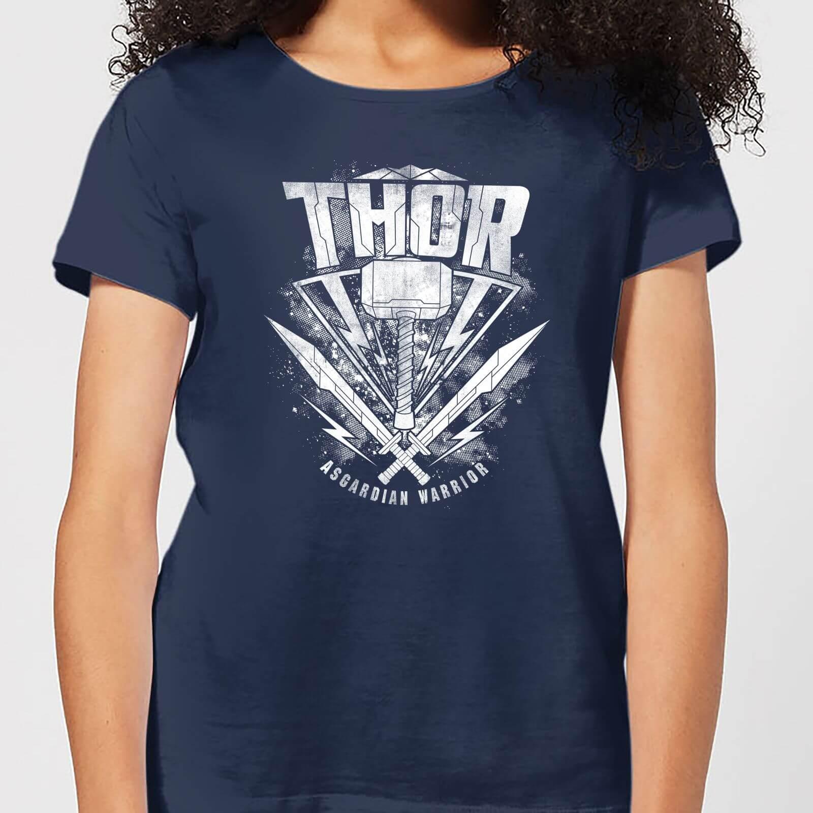 OfferteWeb.click 73-t-shirt-marvel-thor-ragnarok-thor-hammer-logo-navy-donna