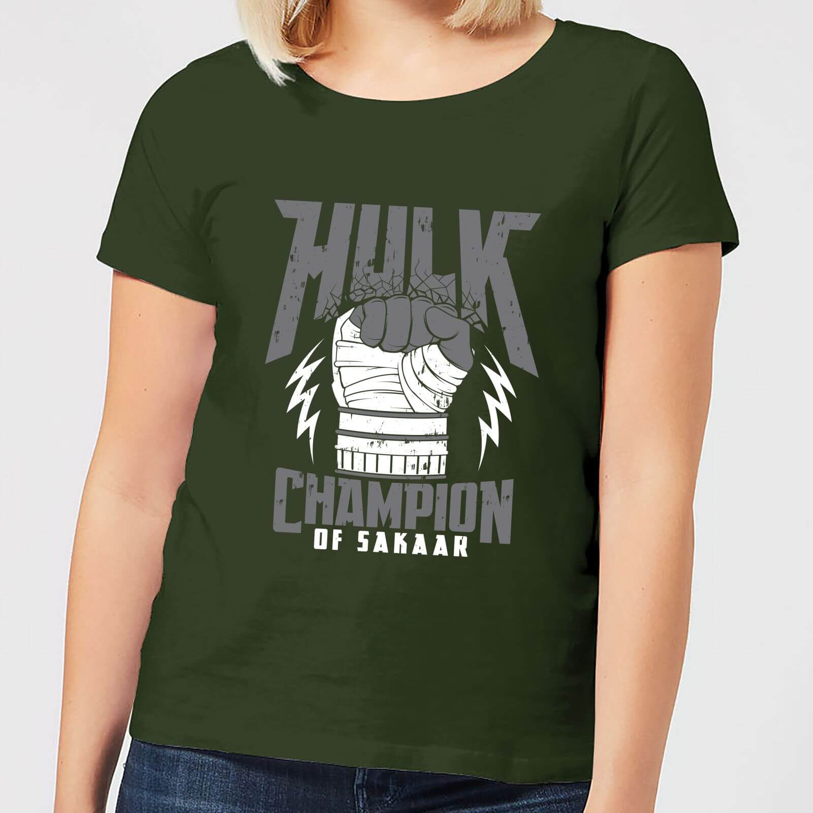 OfferteWeb.click 91-t-shirt-marvel-thor-ragnarok-hulk-champion-forest-green
