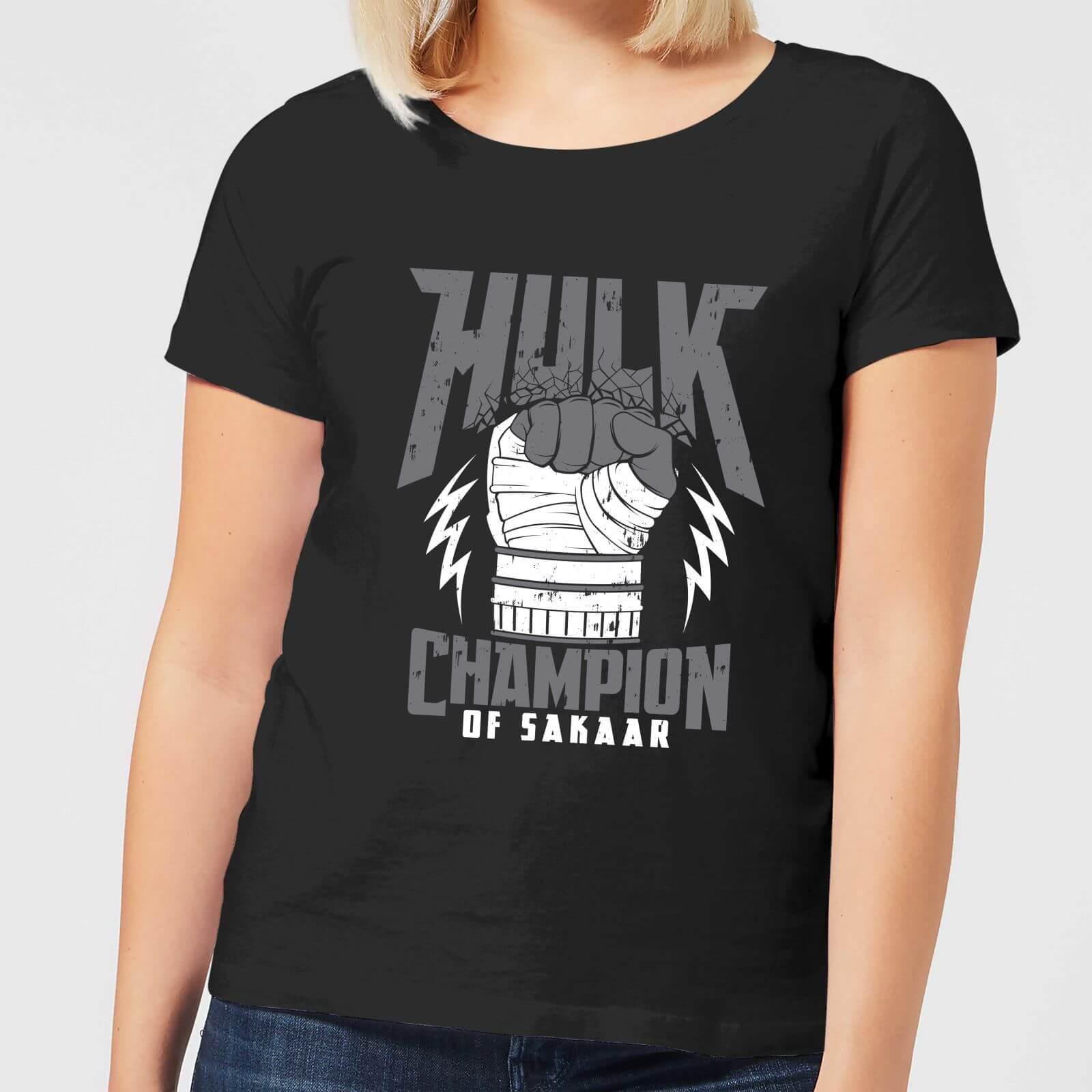 OfferteWeb.click 96-t-shirt-marvel-thor-ragnarok-hulk-champion-nero-donna