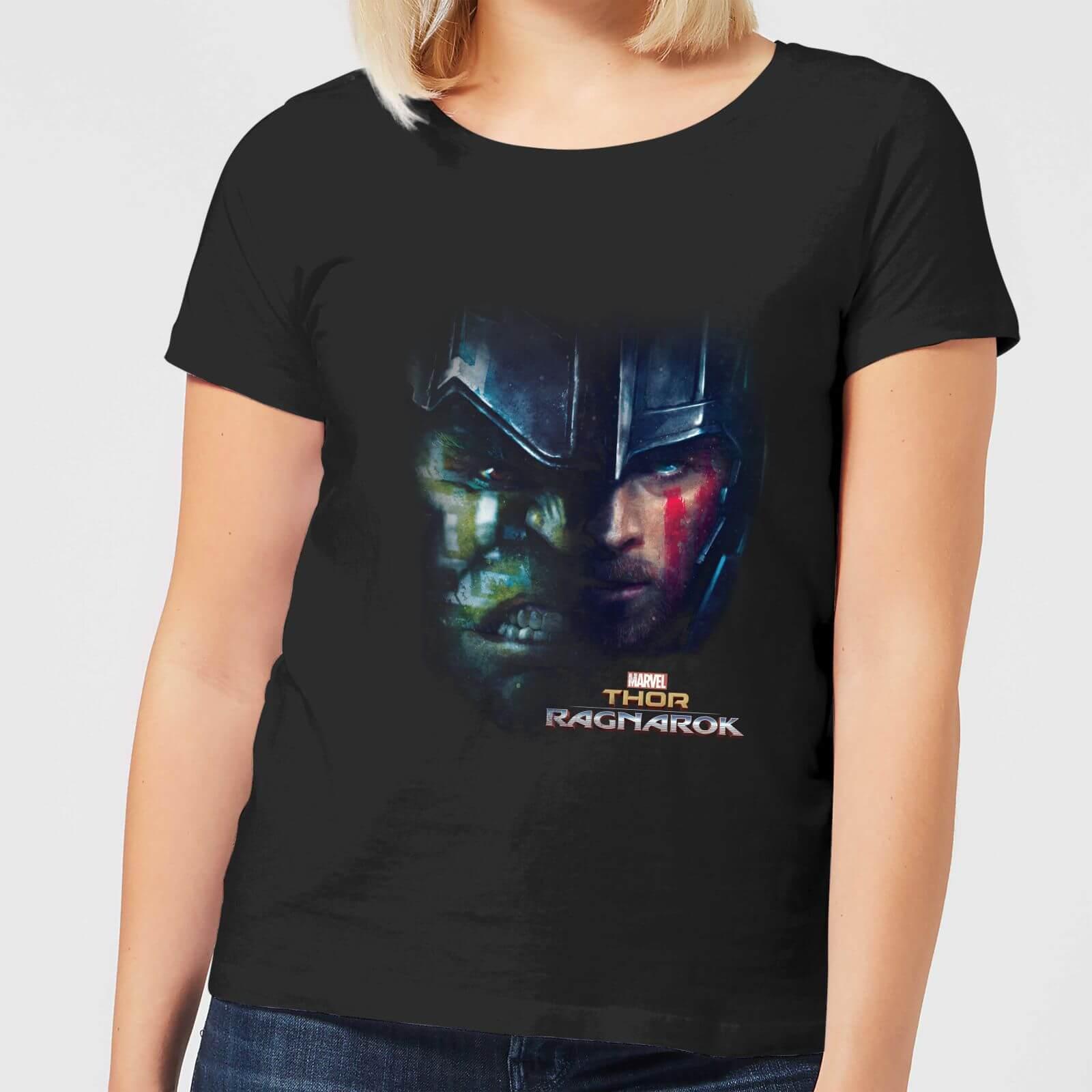 OfferteWeb.click 05-t-shirt-marvel-thor-ragnarok-hulk-split-face-nero-donna