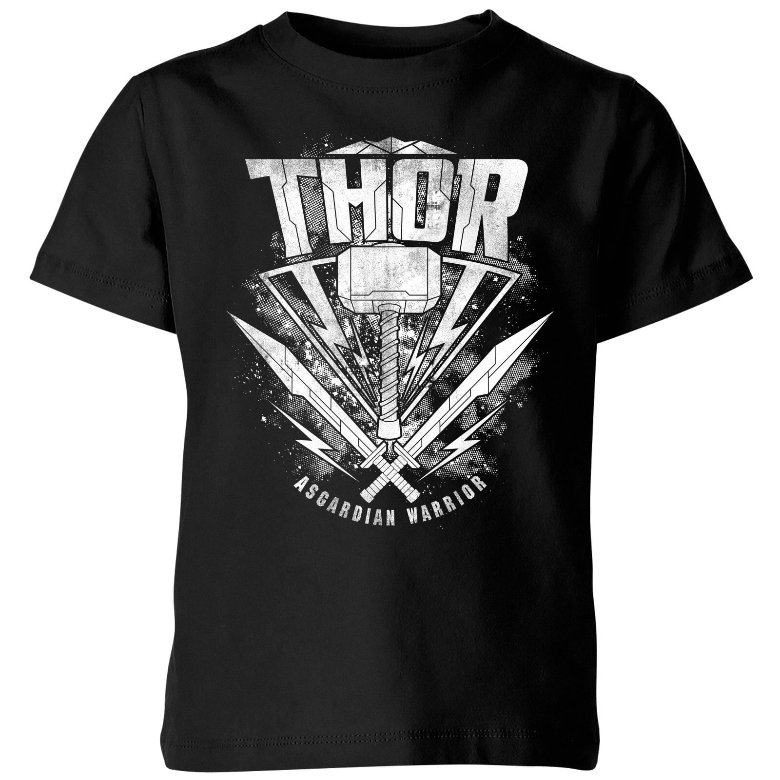 OfferteWeb.click 47-t-shirt-marvel-thor-ragnarok-thor-hammer-logo-nero