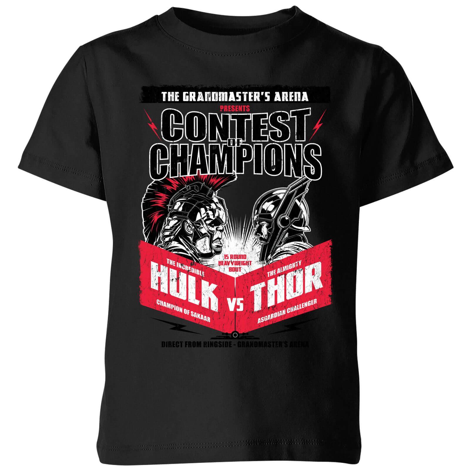 OfferteWeb.click 66-t-shirt-marvel-thor-ragnarok-champions-poster-nero