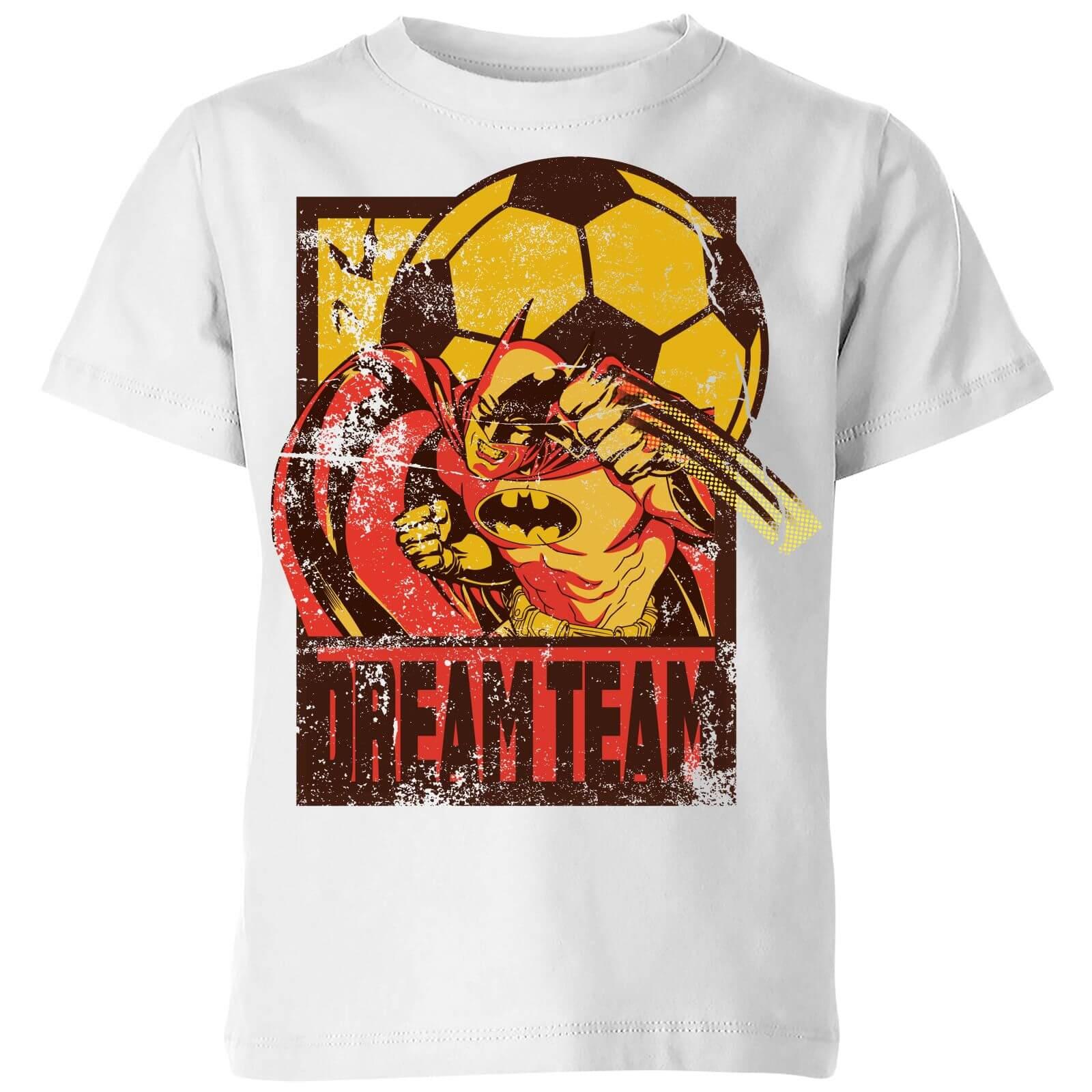 OfferteWeb.click 49-dc-batman-dream-team-punch-kids-t-shirt-white-11-12