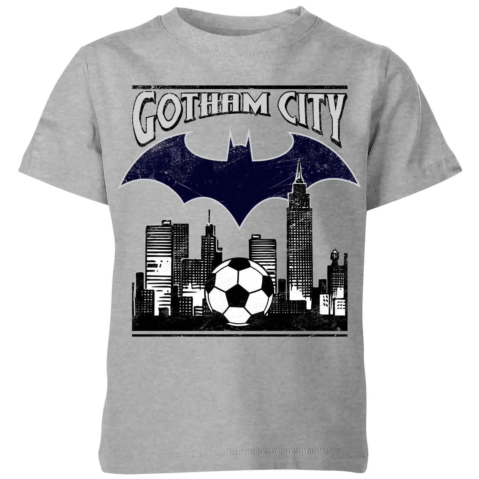 OfferteWeb.click 72-dc-batman-football-gotham-city-kids-t-shirt-grey-9-10