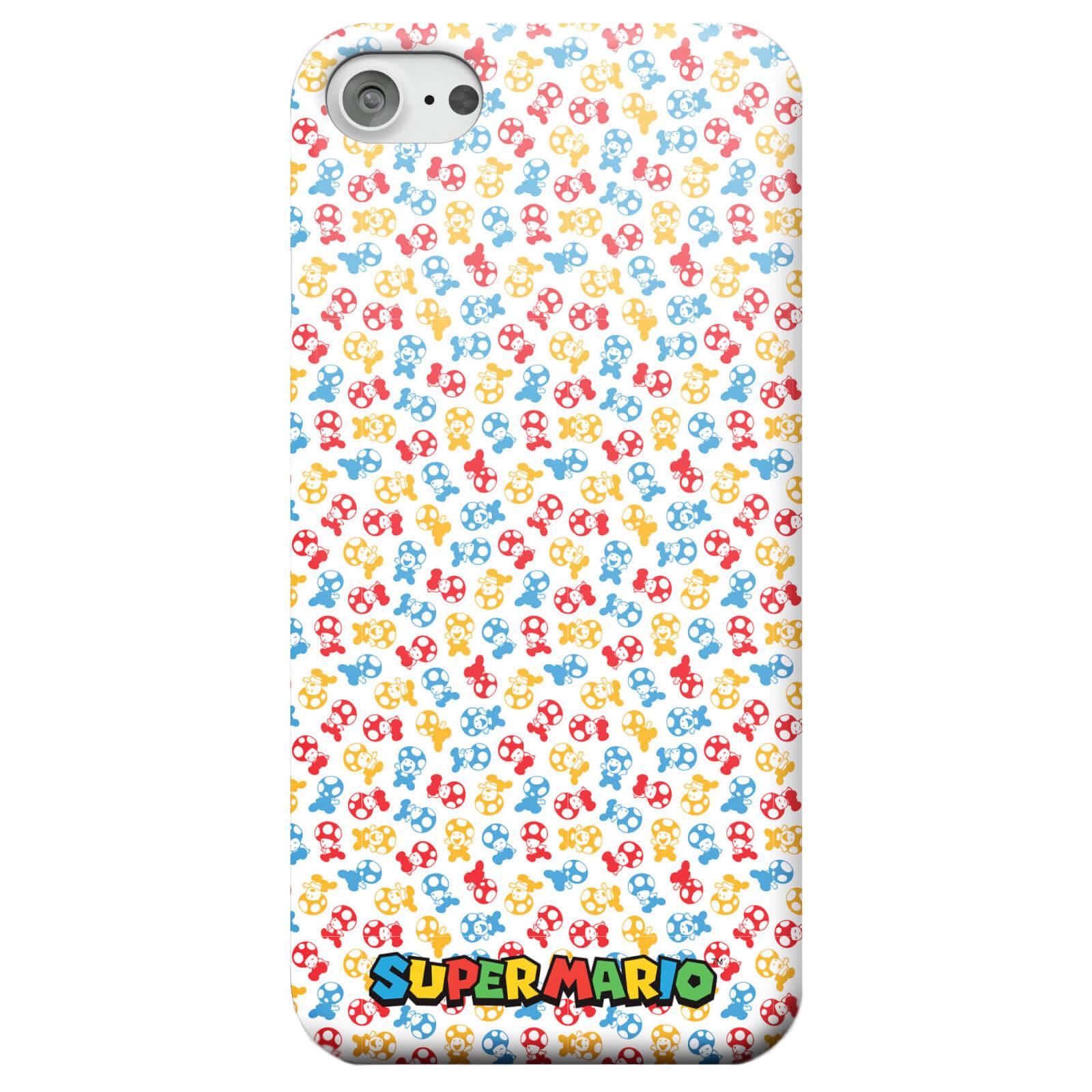 OfferteWeb.click 74-cover-telefono-nintendo-super-mario-toad-pattern-per-iphone