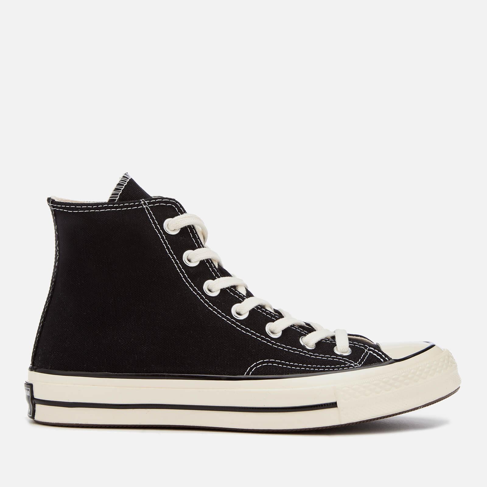 Converse Chuck 70 Hi-Top Trainers - Black/Black/Egret - UK 4 - Black