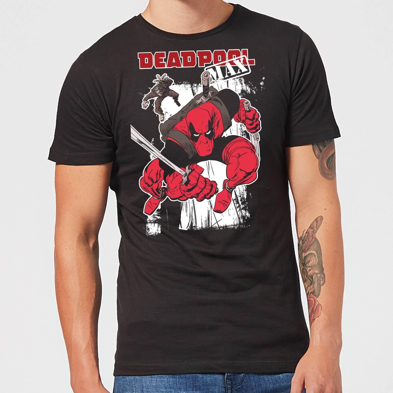 OfferteWeb.click 39-t-shirt-marvel-deadpool-max-nero-uomo-xxl-nero