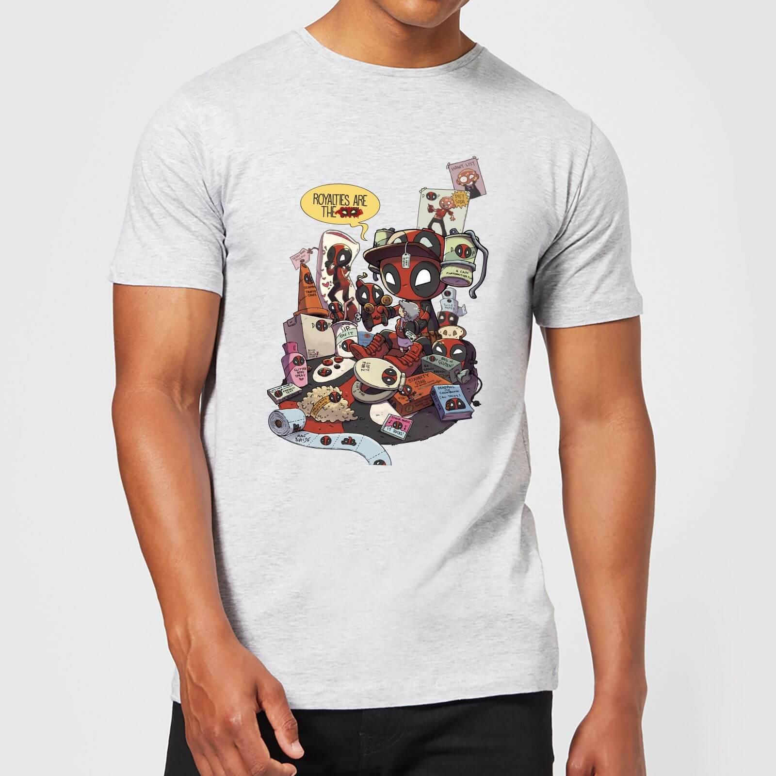 OfferteWeb.click 99-t-shirt-marvel-deadpool-merchandise-royalties-grigio