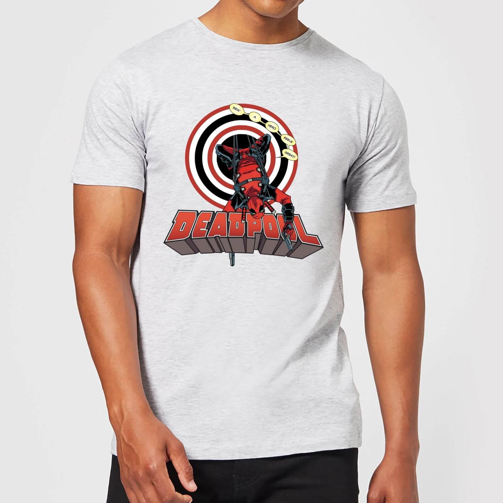 OfferteWeb.click 01-t-shirt-marvel-deadpool-upside-down-grigio-uomo-s