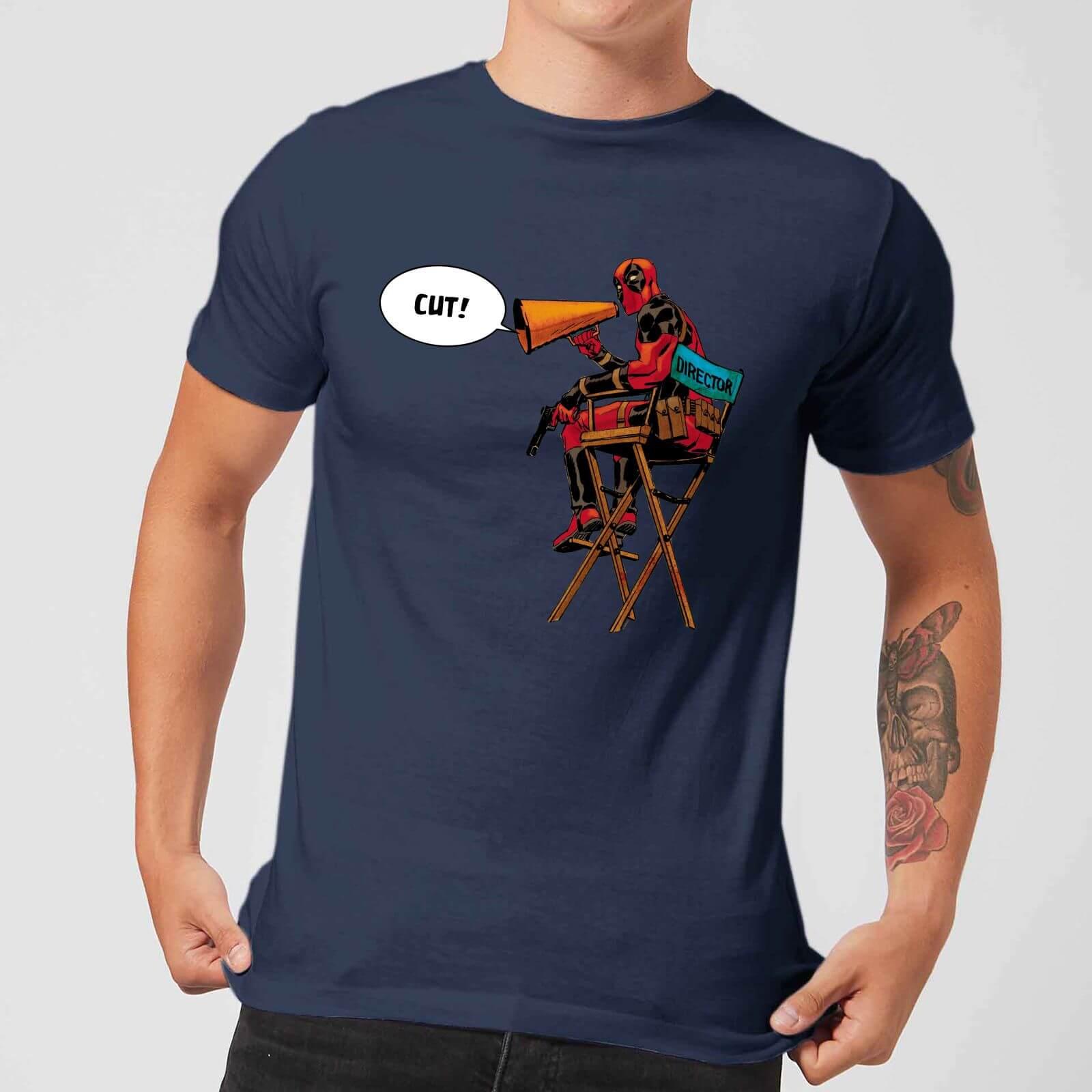 OfferteWeb.click 17-t-shirt-marvel-deadpool-director-cut-navy-uomo-xxl