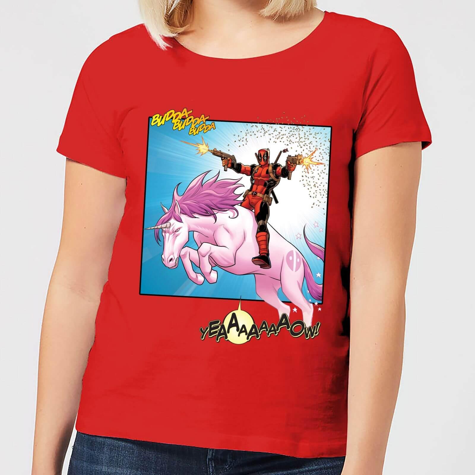 OfferteWeb.click 71-t-shirt-marvel-deadpool-unicorn-battle-rosso-donna-xxl