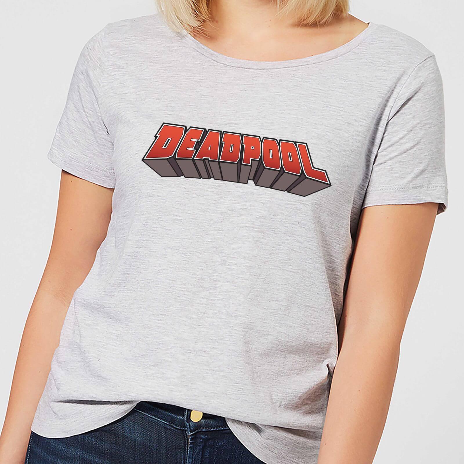 OfferteWeb.click 75-t-shirt-marvel-deadpool-logo-grigio-donna-l-grigio