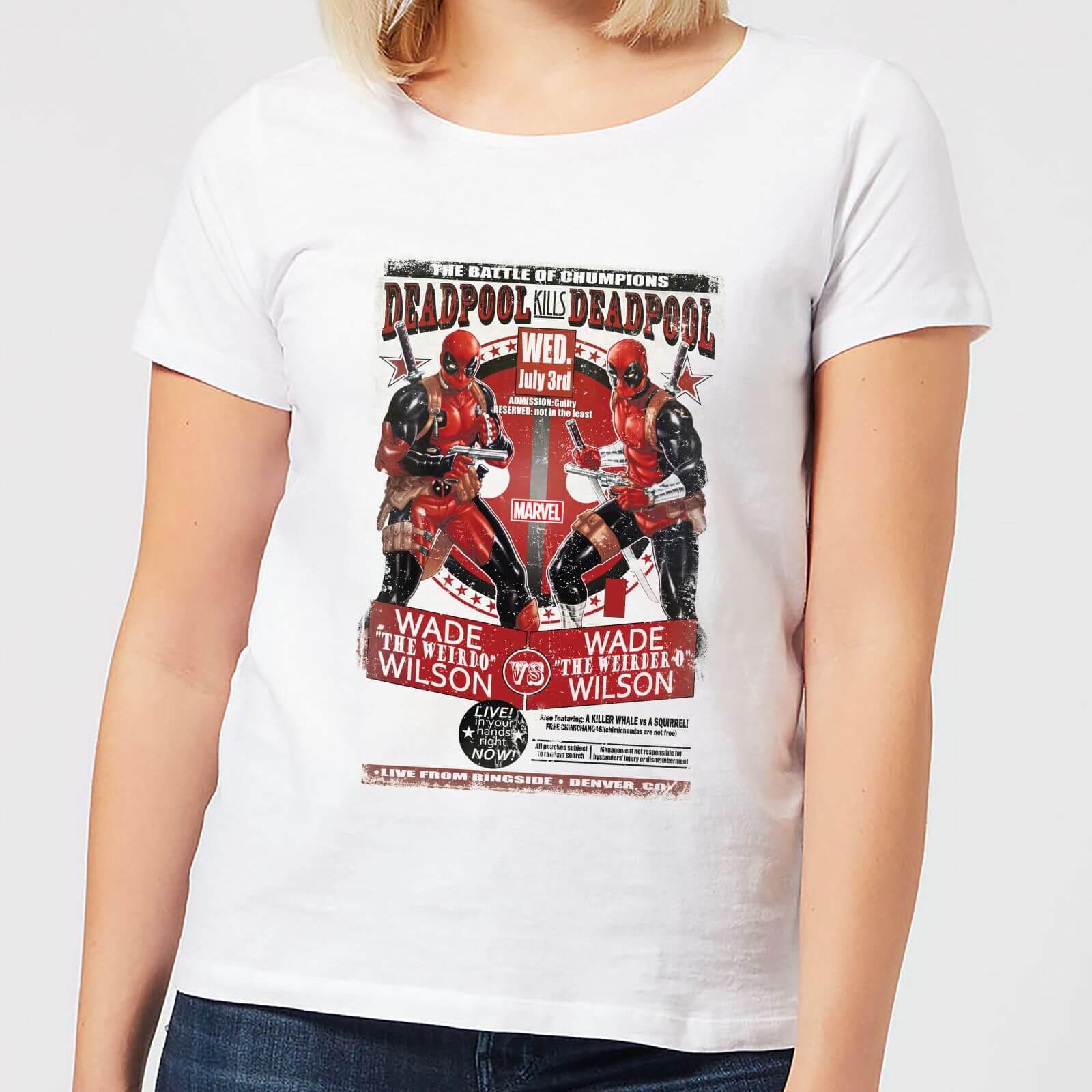 OfferteWeb.click 87-t-shirt-marvel-deadpool-kills-deadpool-bianco-donna-l
