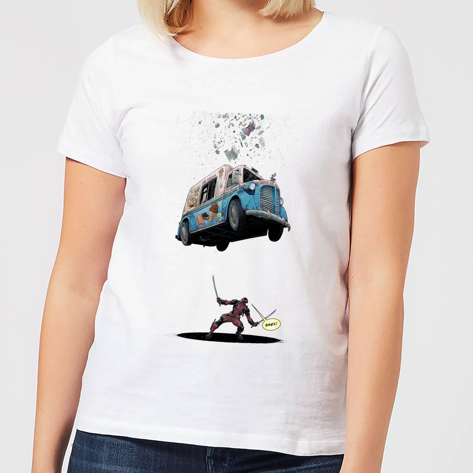 OfferteWeb.click 94-t-shirt-marvel-deadpool-ice-cream-bianco-donna-xl