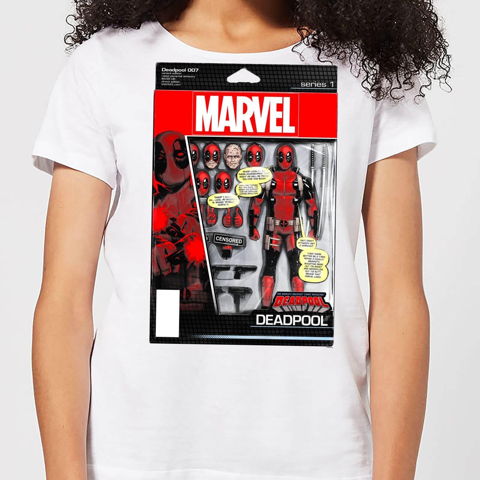 OfferteWeb.click 00-t-shirt-marvel-deadpool-action-figure-bianco-donna-xl
