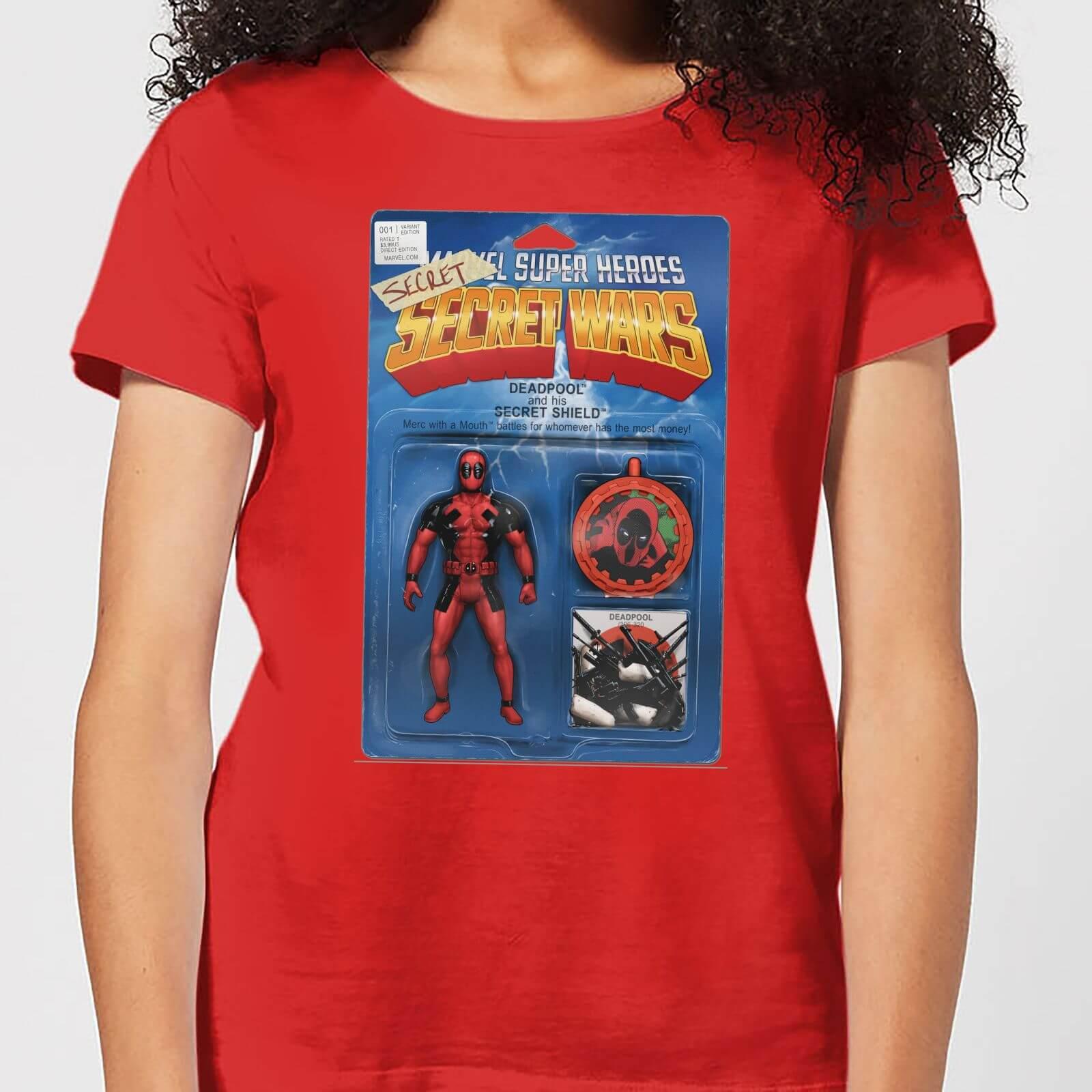 OfferteWeb.click 10-t-shirt-marvel-deadpool-secret-wars-action-figure-rosso