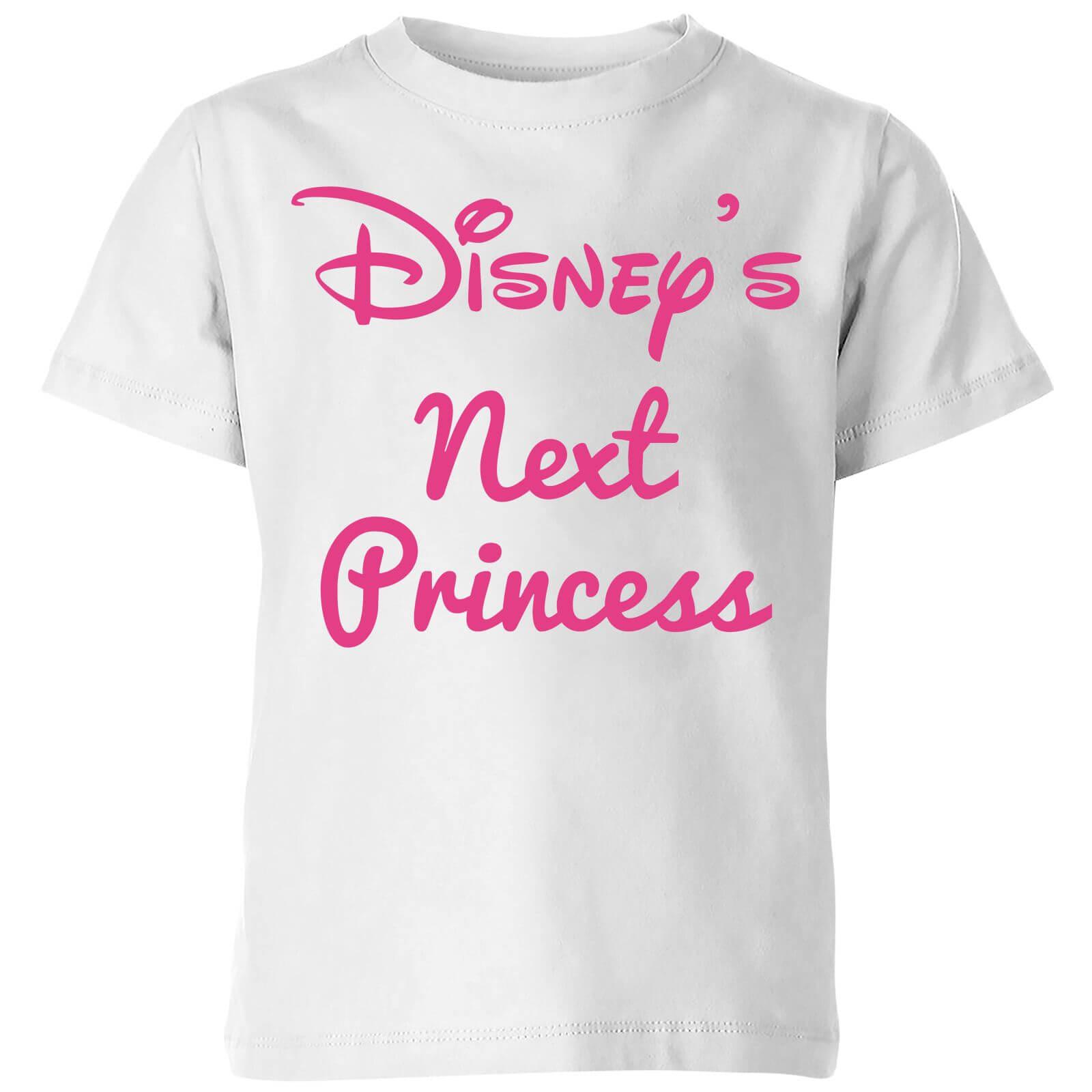disney princess next kids' t-shirt - white - 3-4 years - white