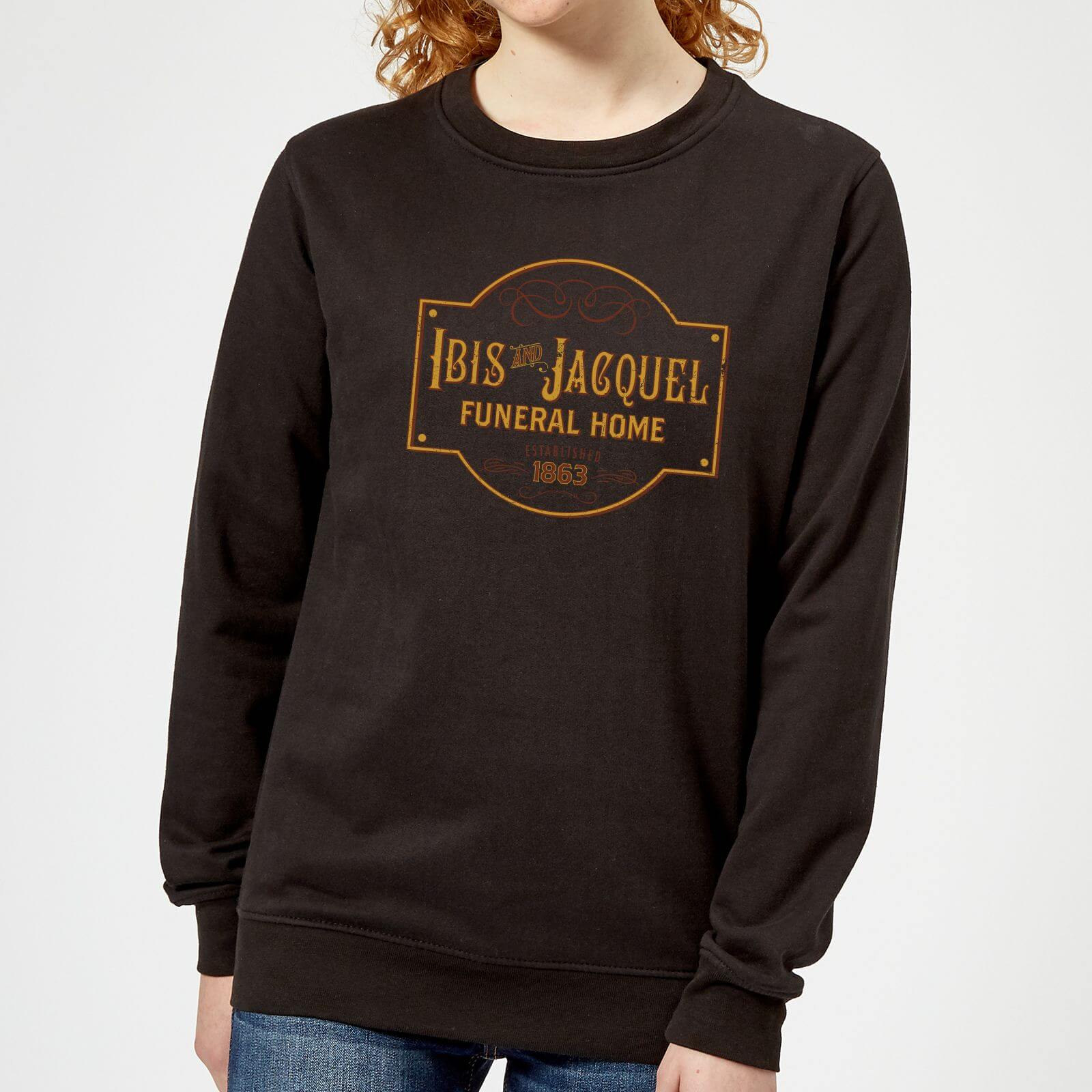 American Gods Ibis And Jacquel Women's Sweatshirt - Black - XXL - Black