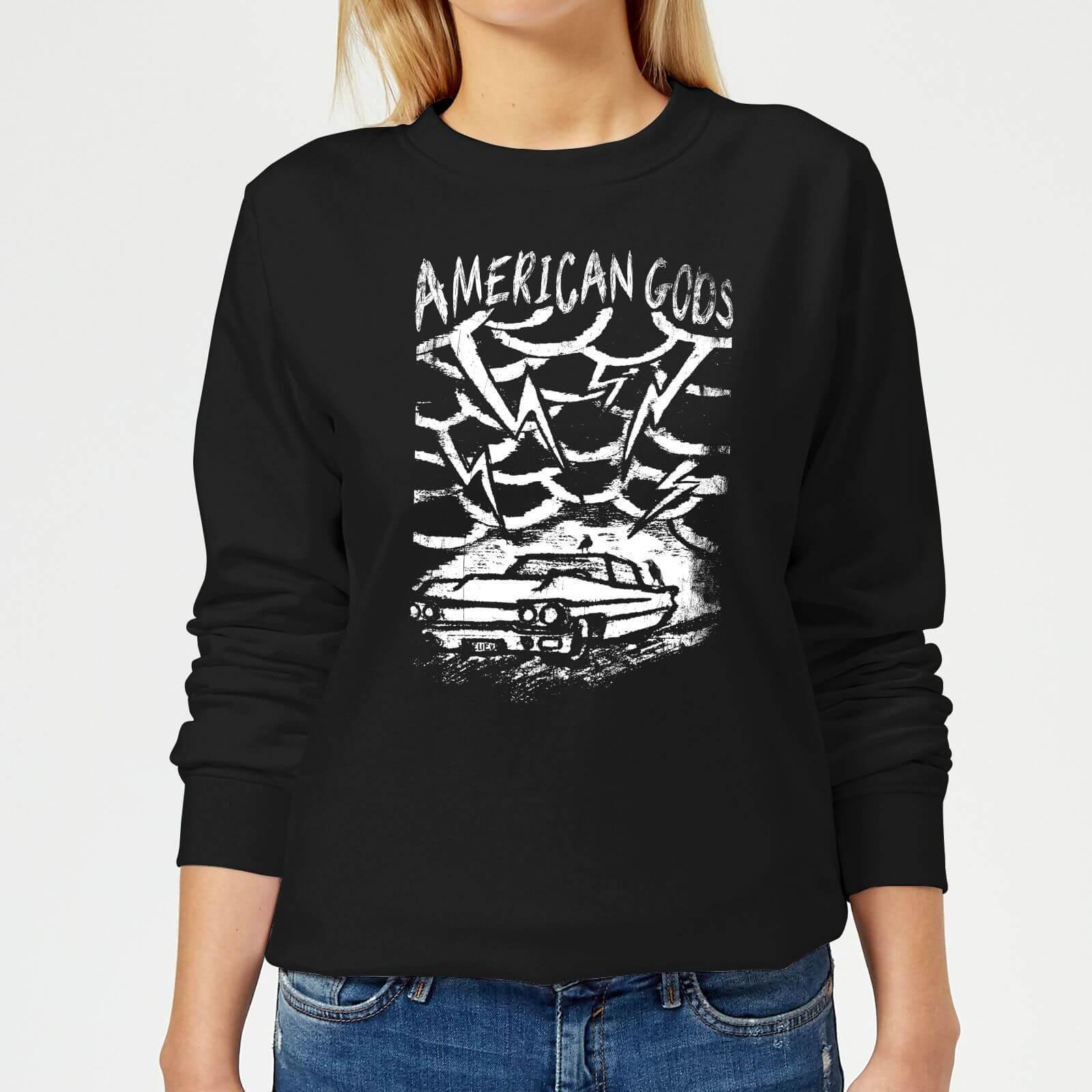 American Gods Car Storm Women's Sweatshirt - Black - XL - Black