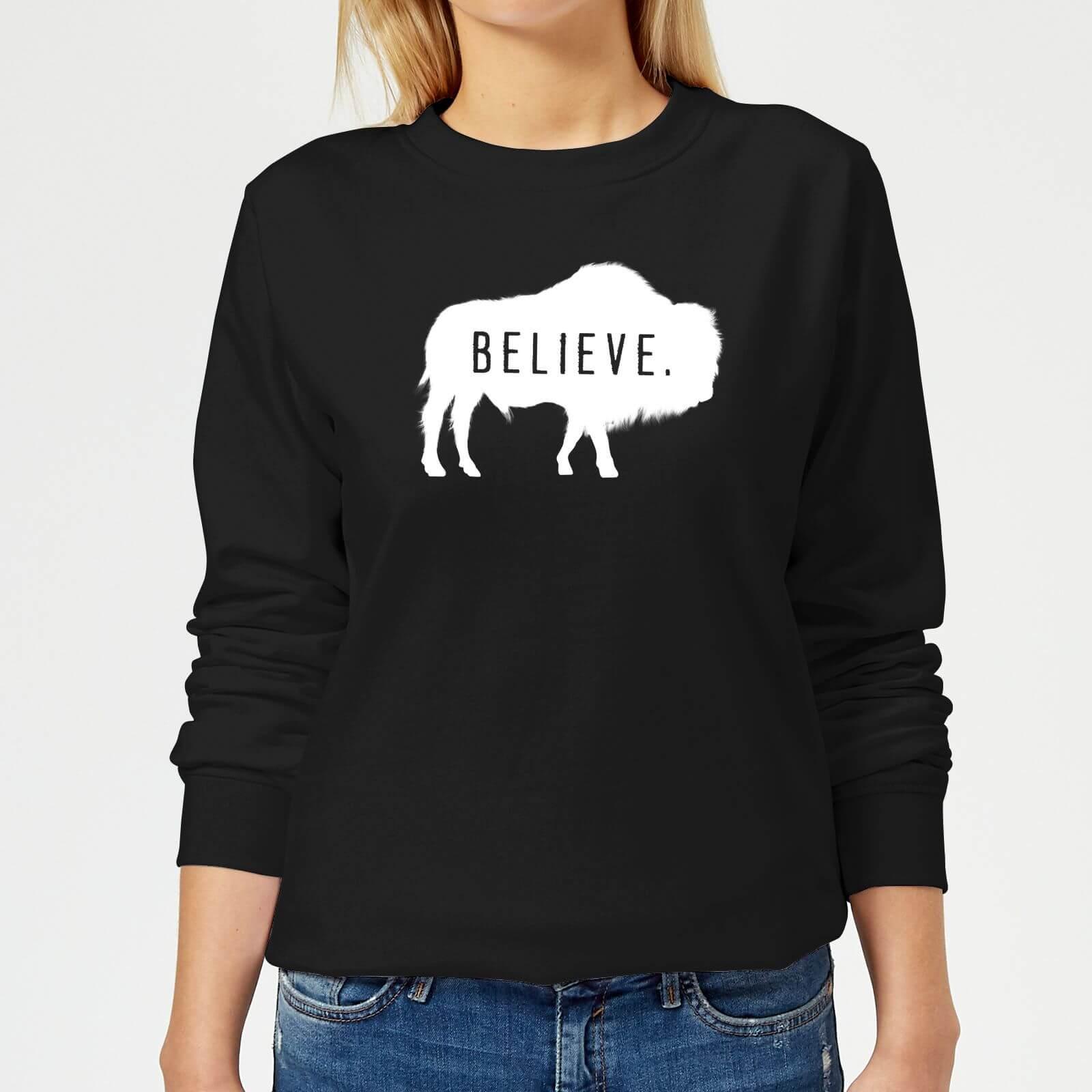 American Gods Believe Buffalo Women's Sweatshirt - Black - XL - Black