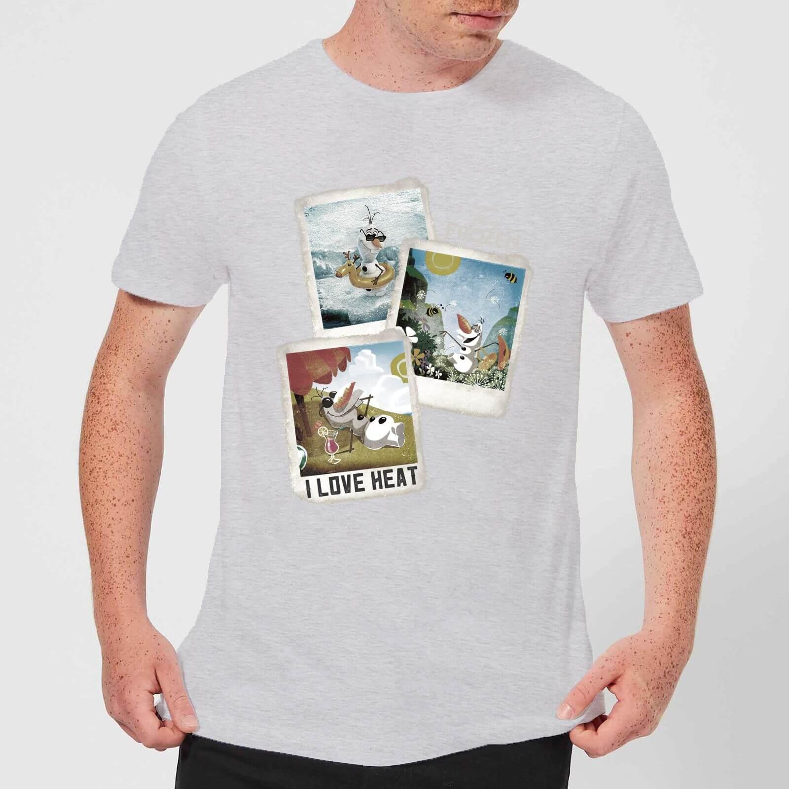 Disney Disney Frozen Olaf Polaroid Men's T-Shirt - Grey - 3XL - Grey