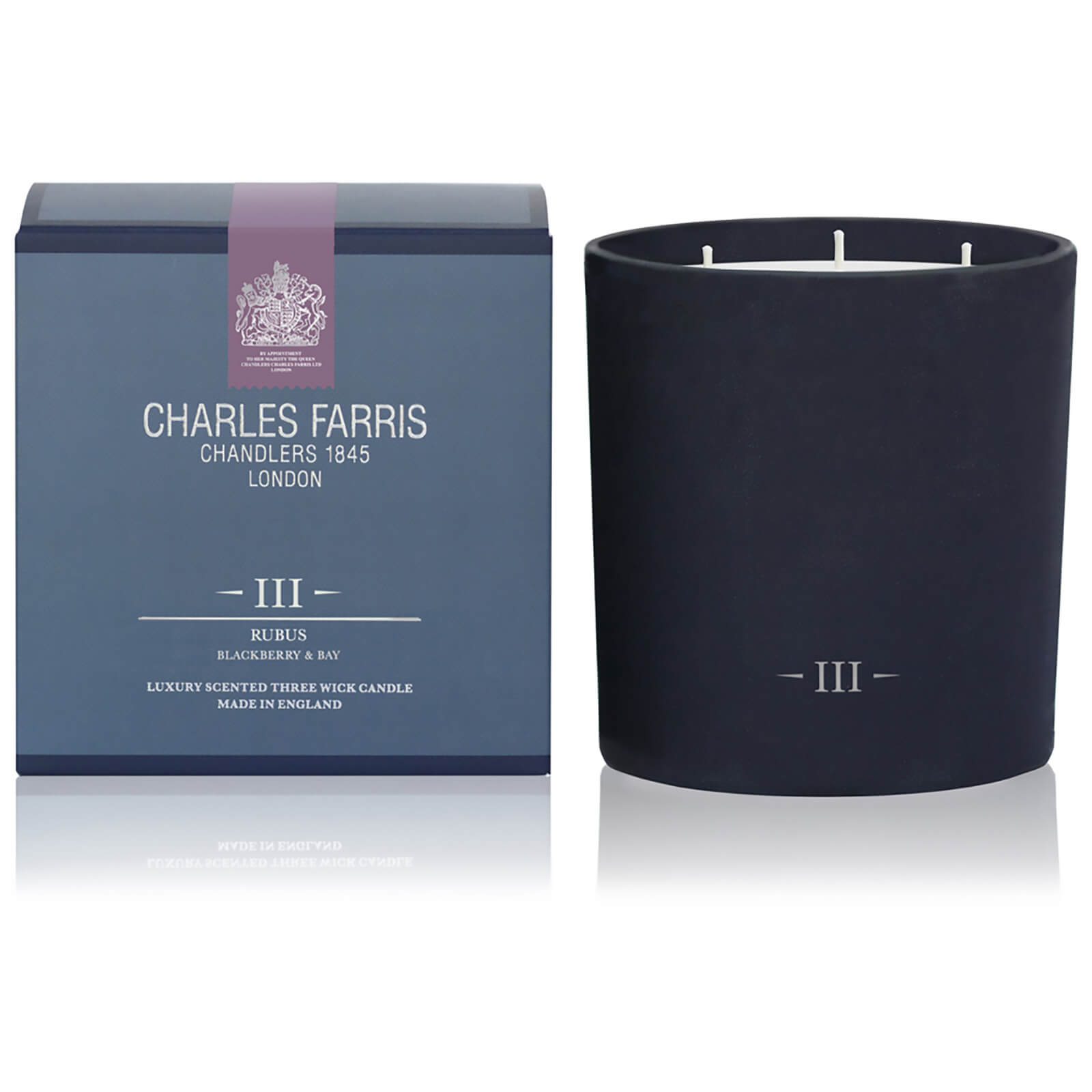 Charles Farris Signature Rubus 3 Wick Candle 1475g