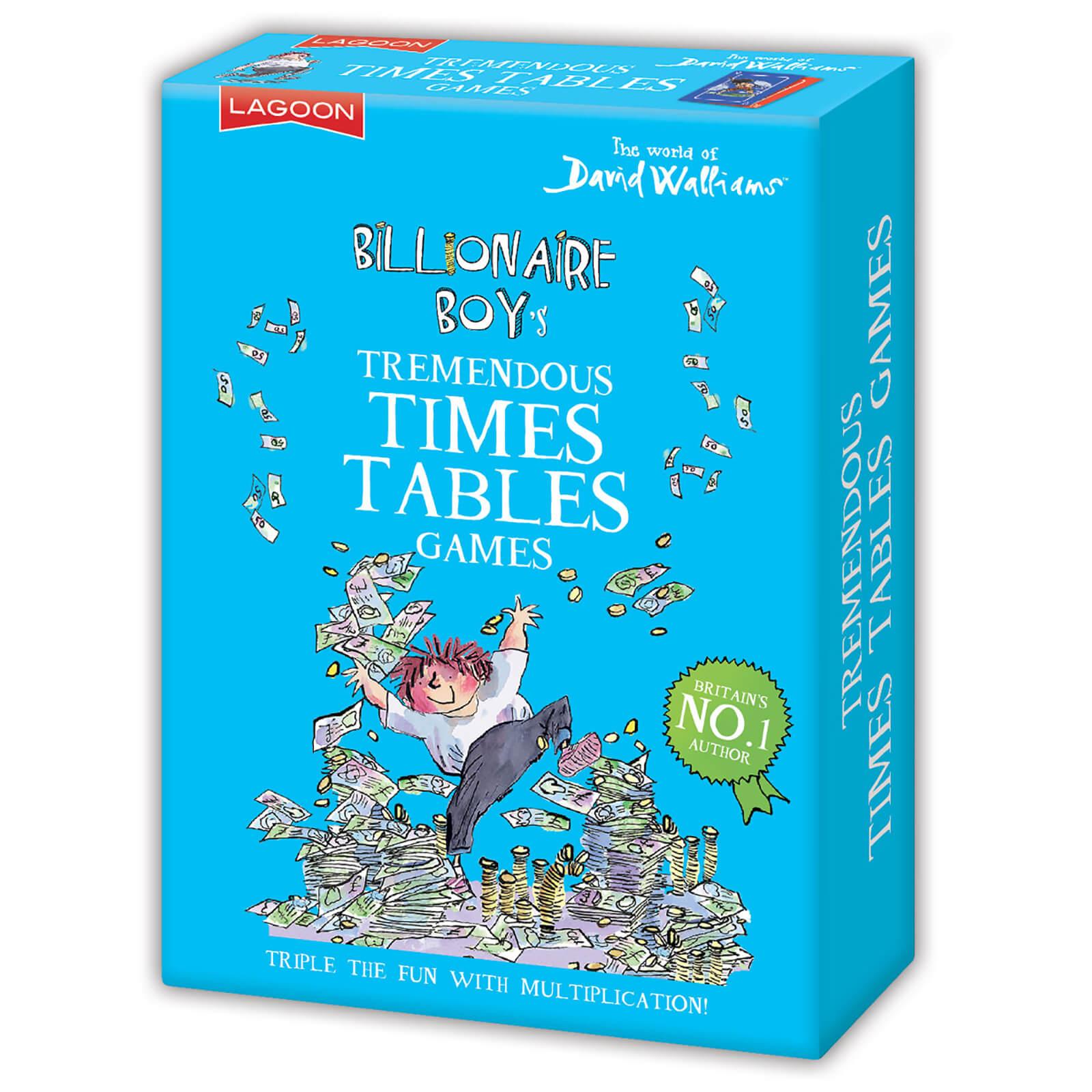 Image of David Walliams Billionaire Boy's Tremendous Times Tables Games