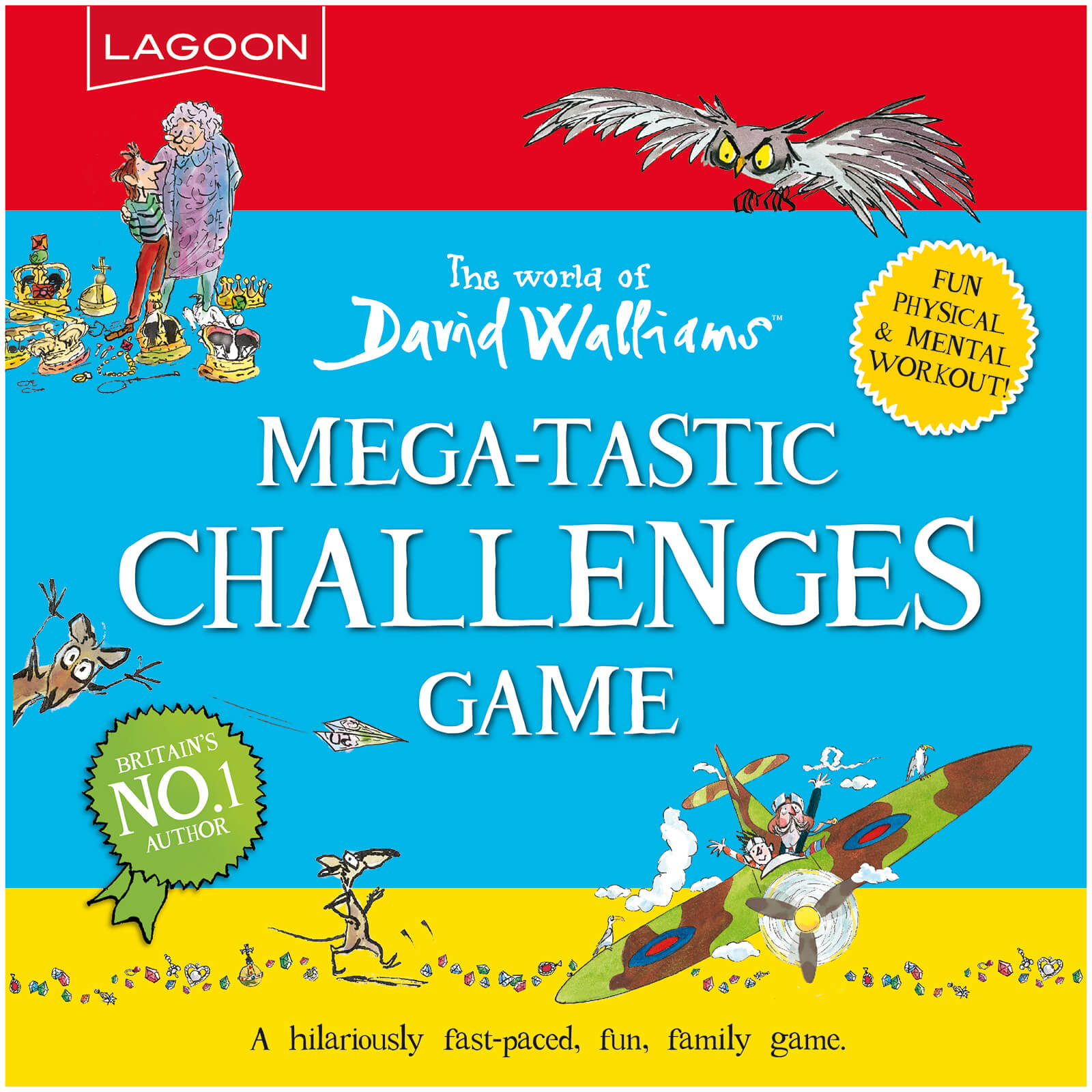 Image of David Walliams Mega-Tastic Challenges Games