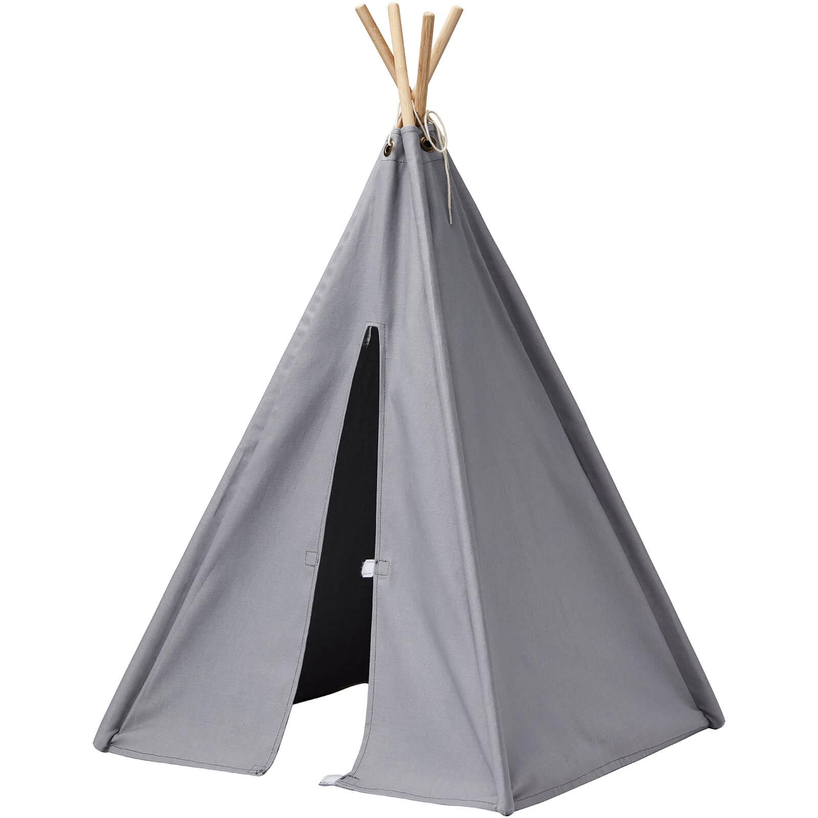 Kids Concept Mini Tipi Tent - Grey