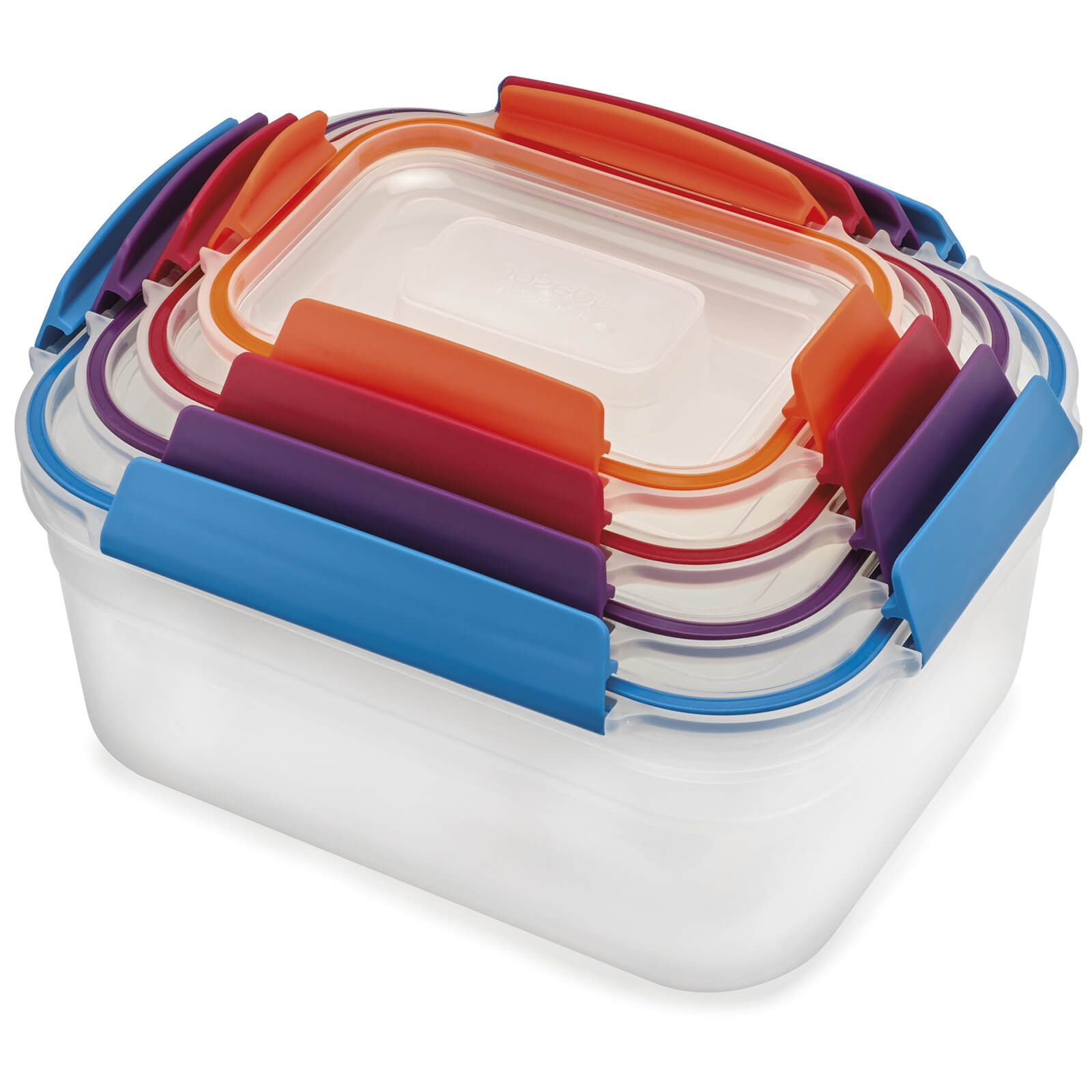 Joseph Joseph Nest Lock 4-Piece Container Set - Multicolour