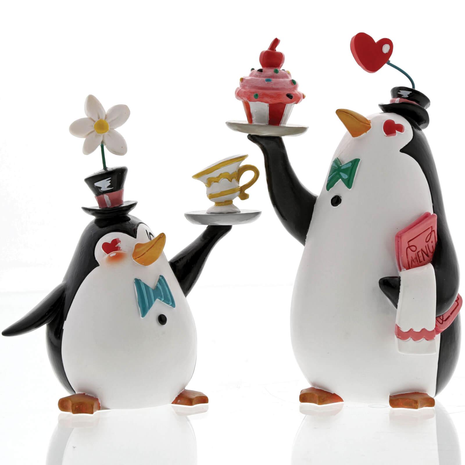 Miss Mindy Penguin Waiters Figurine