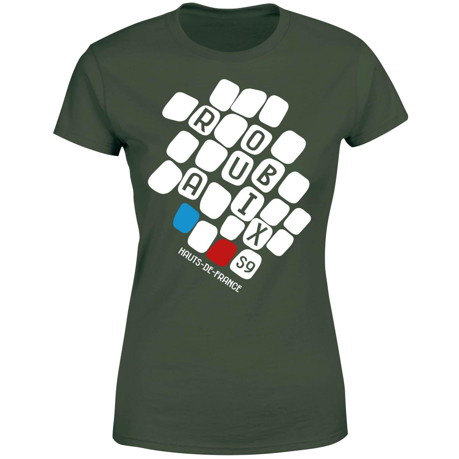 Roubaix Women's T-Shirt - Forest Green - XXL - Forest Green