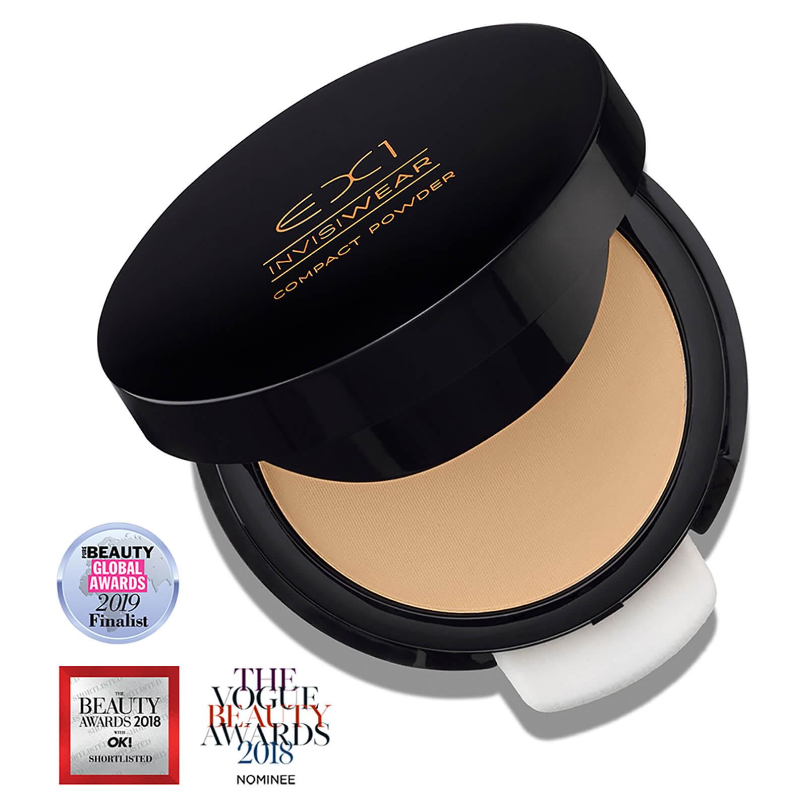 EX1 Cosmetics Compact Powder 9.5g (Various Shades) - 4.0