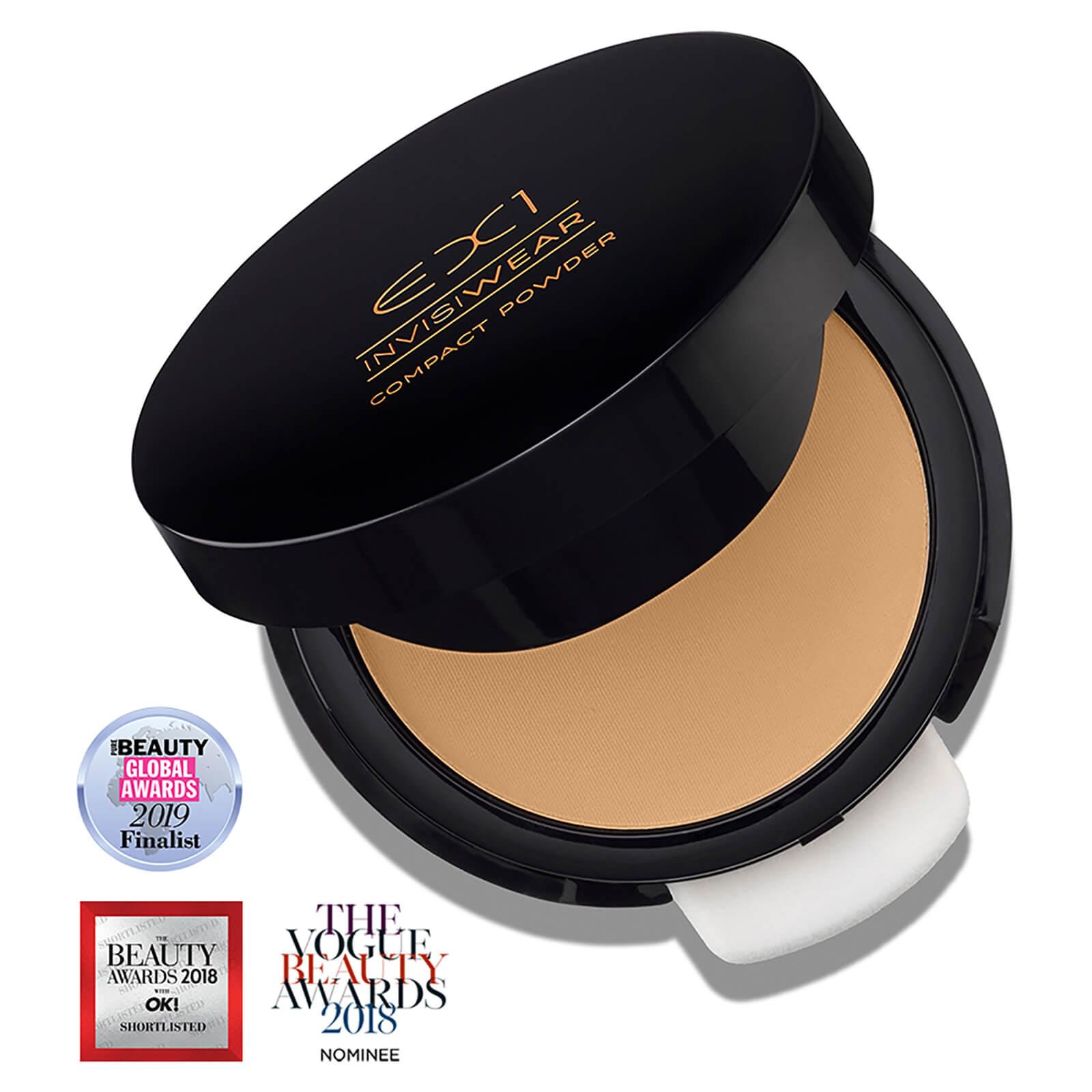 EX1 Cosmetics Compact Powder 9.5g (Various Shades) - 6.0