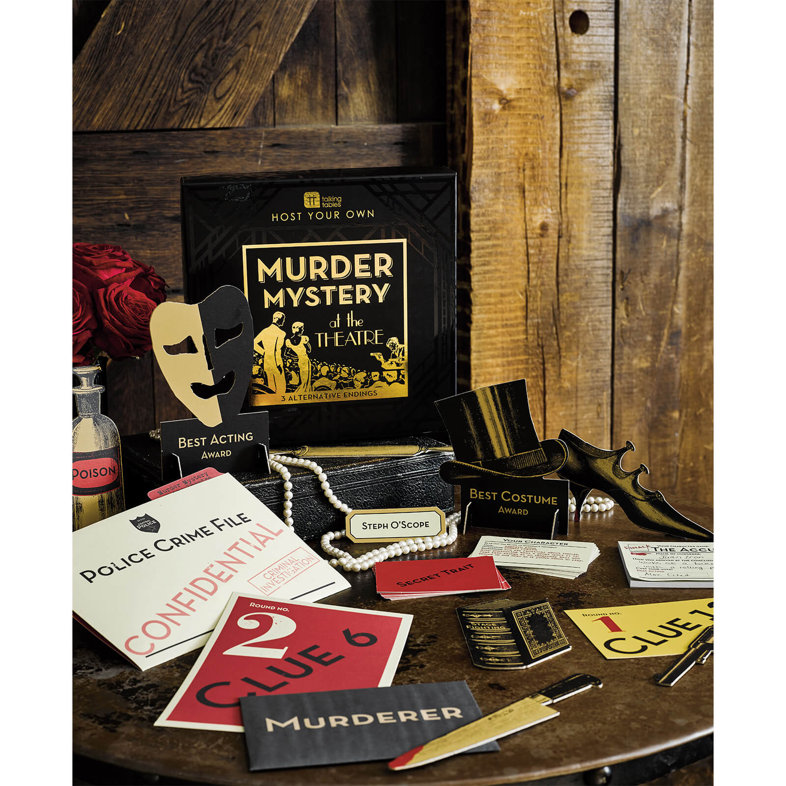 Image of Host Your Own Murder Mystery Night