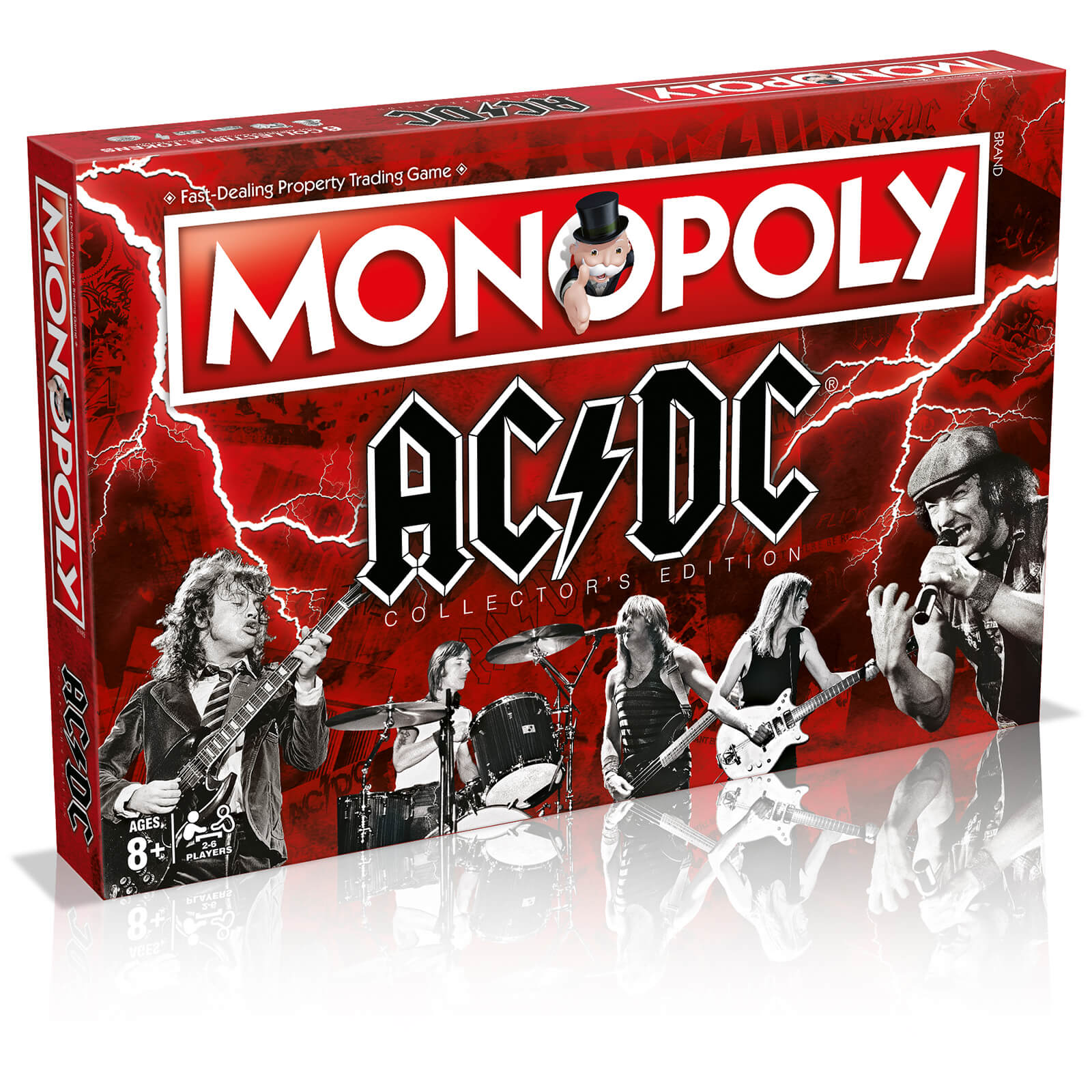 Image of Monopoly Board Game - AC/DC Edition