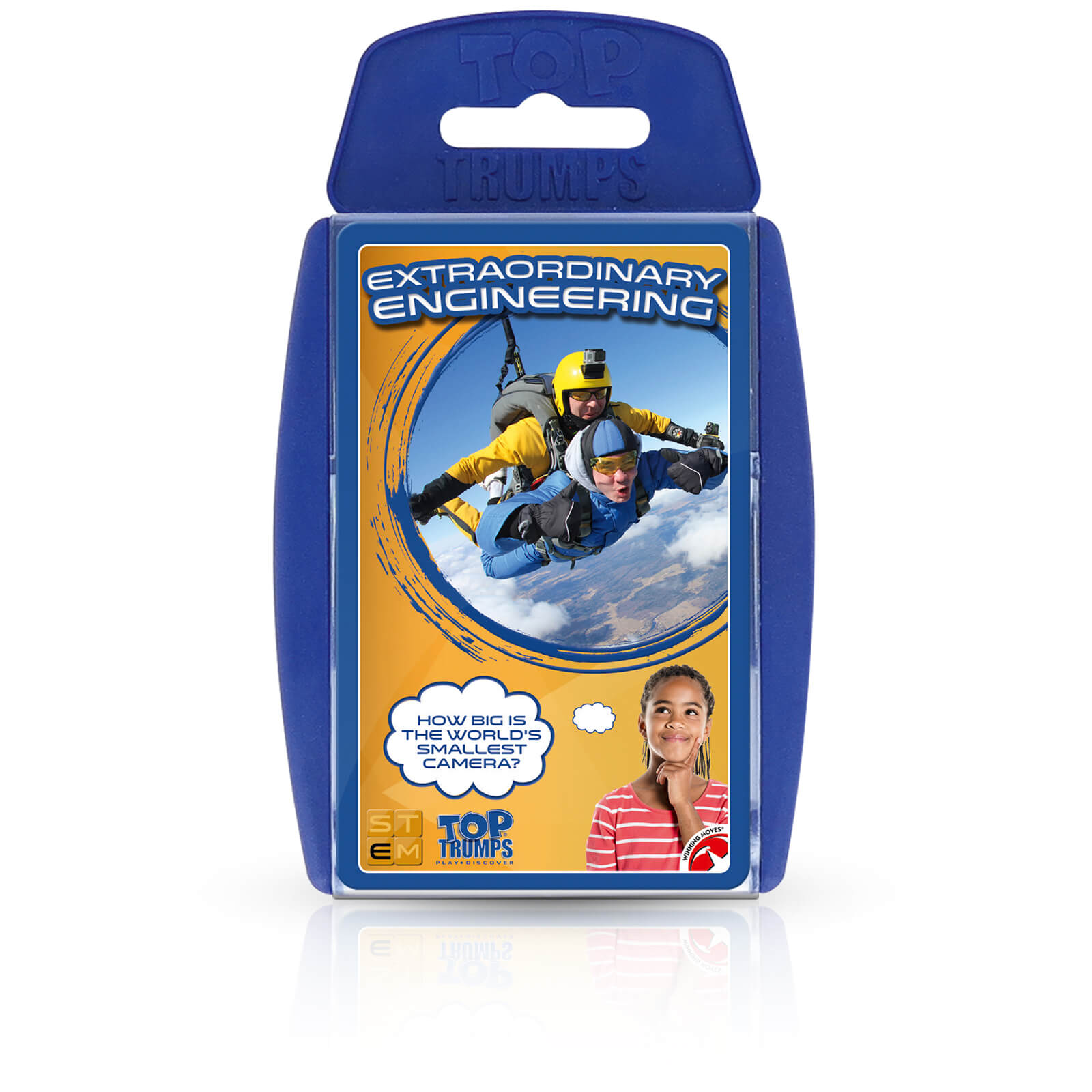 Image of Top Trumps Card Game - STEM Extraordinary Engineering Edition