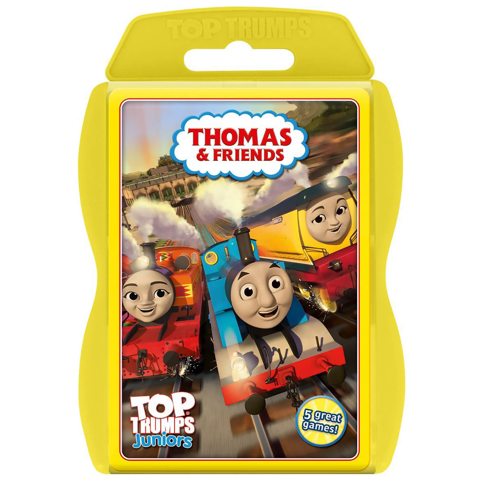 Image of Top Trumps Junior Card Game - Thomas Edition
