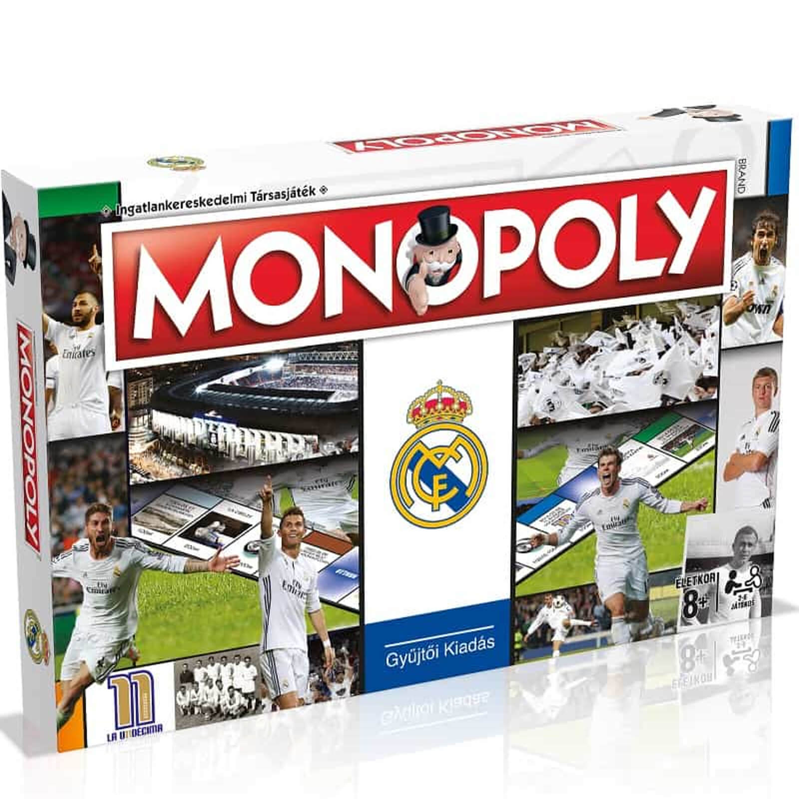 Image of Monopoly Board Game - Real Madrid Edition