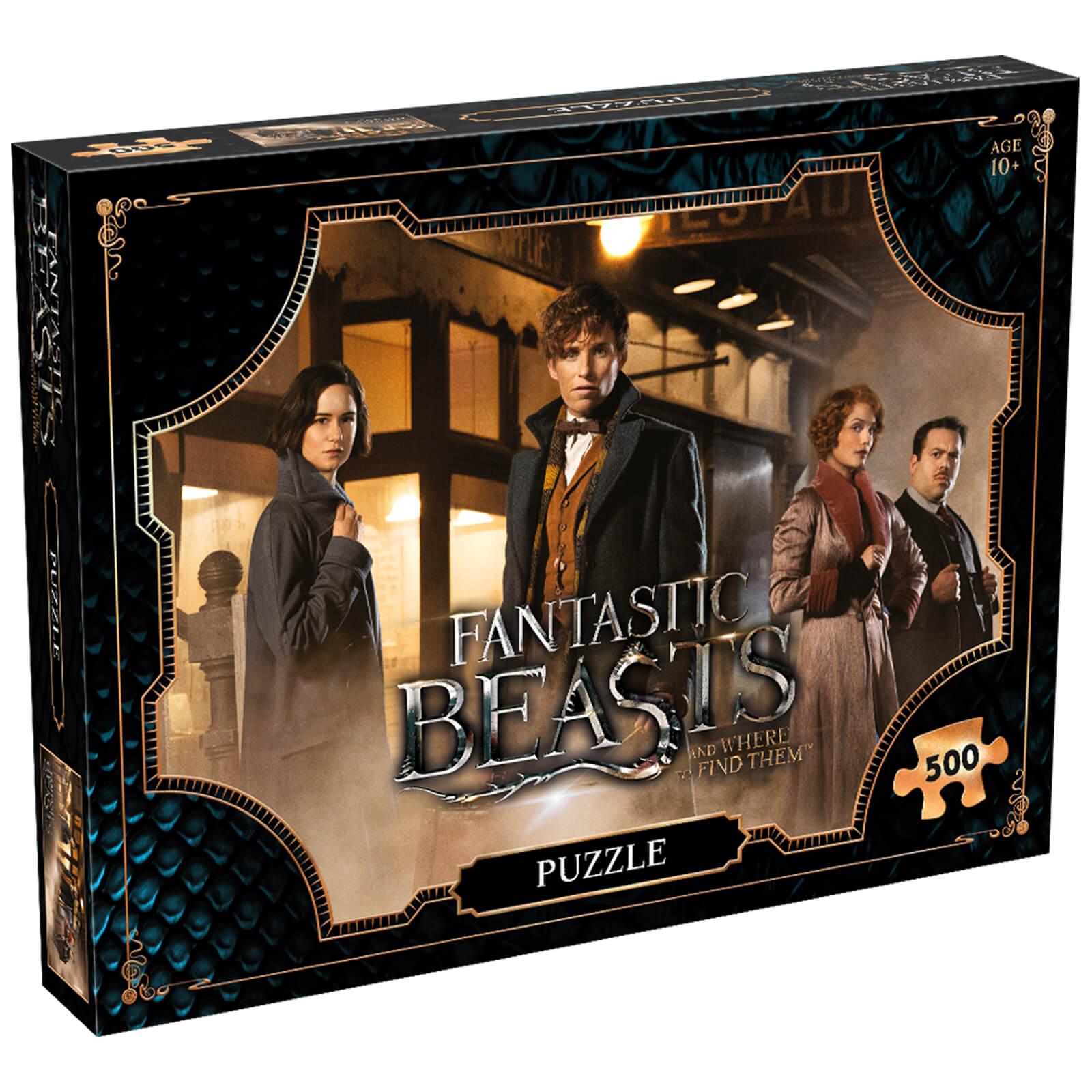 Image of 500 Piece Jigsaw Puzzle - Fantastic Beasts Field Edition