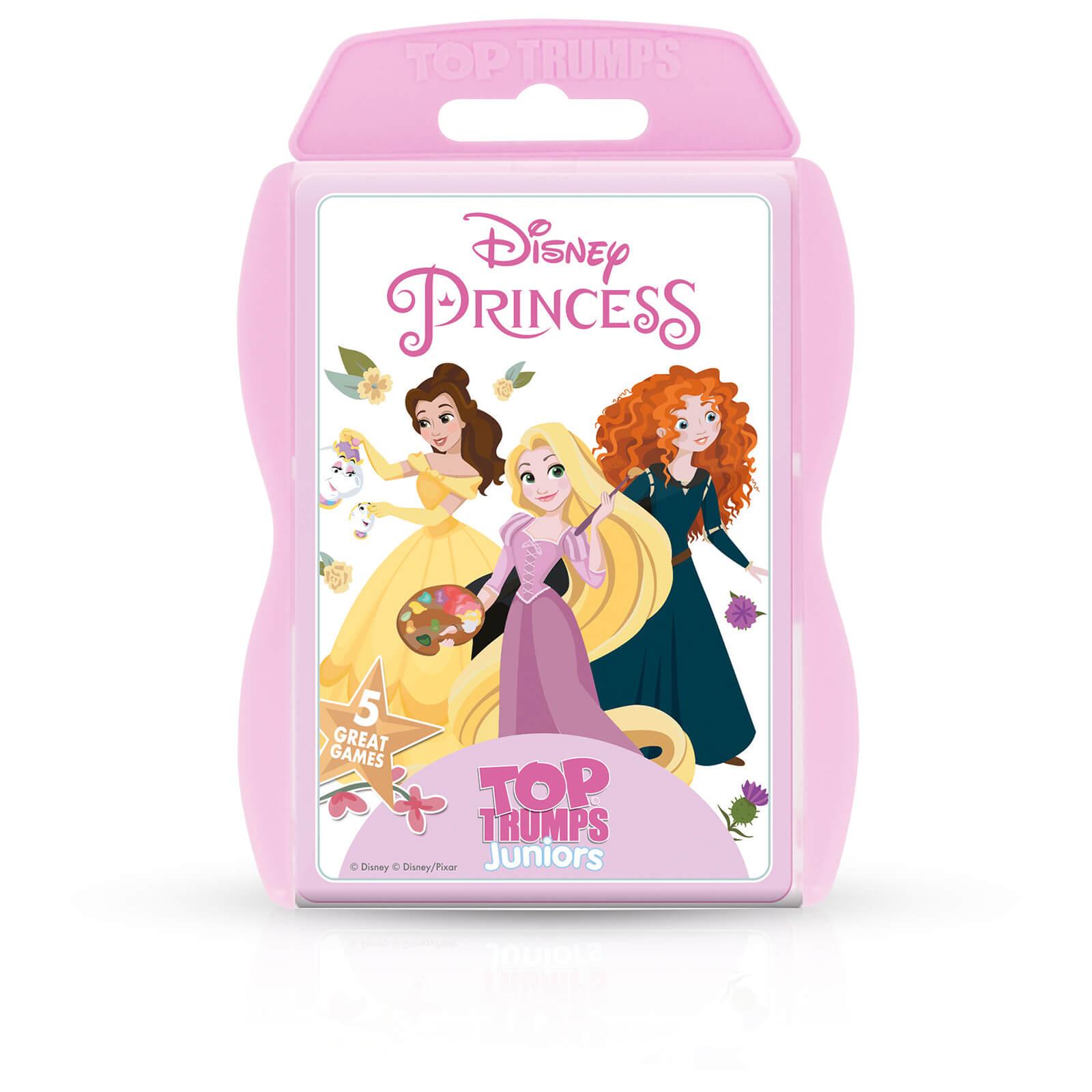 Image of Top Trumps Junior Card Game - Disney Princess Edition