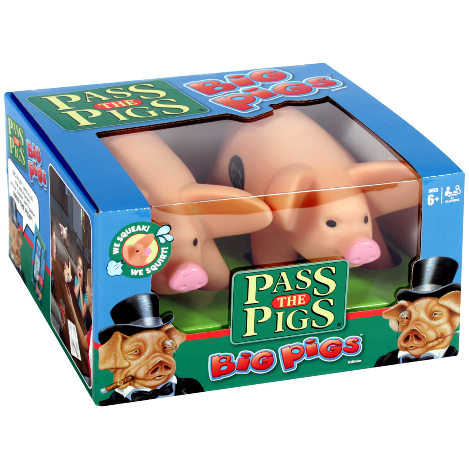 Image of Pass the Pigs Big Pigs Dice Game