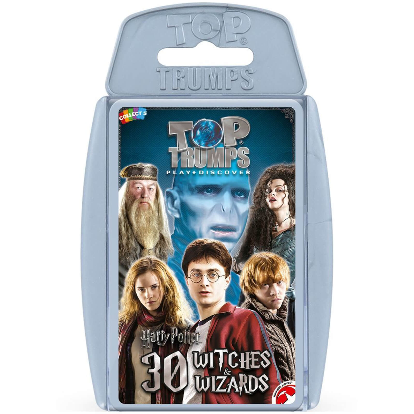 Image of Top Trumps Card Game - Harry Potter Greatest Witches and Wizards Edition