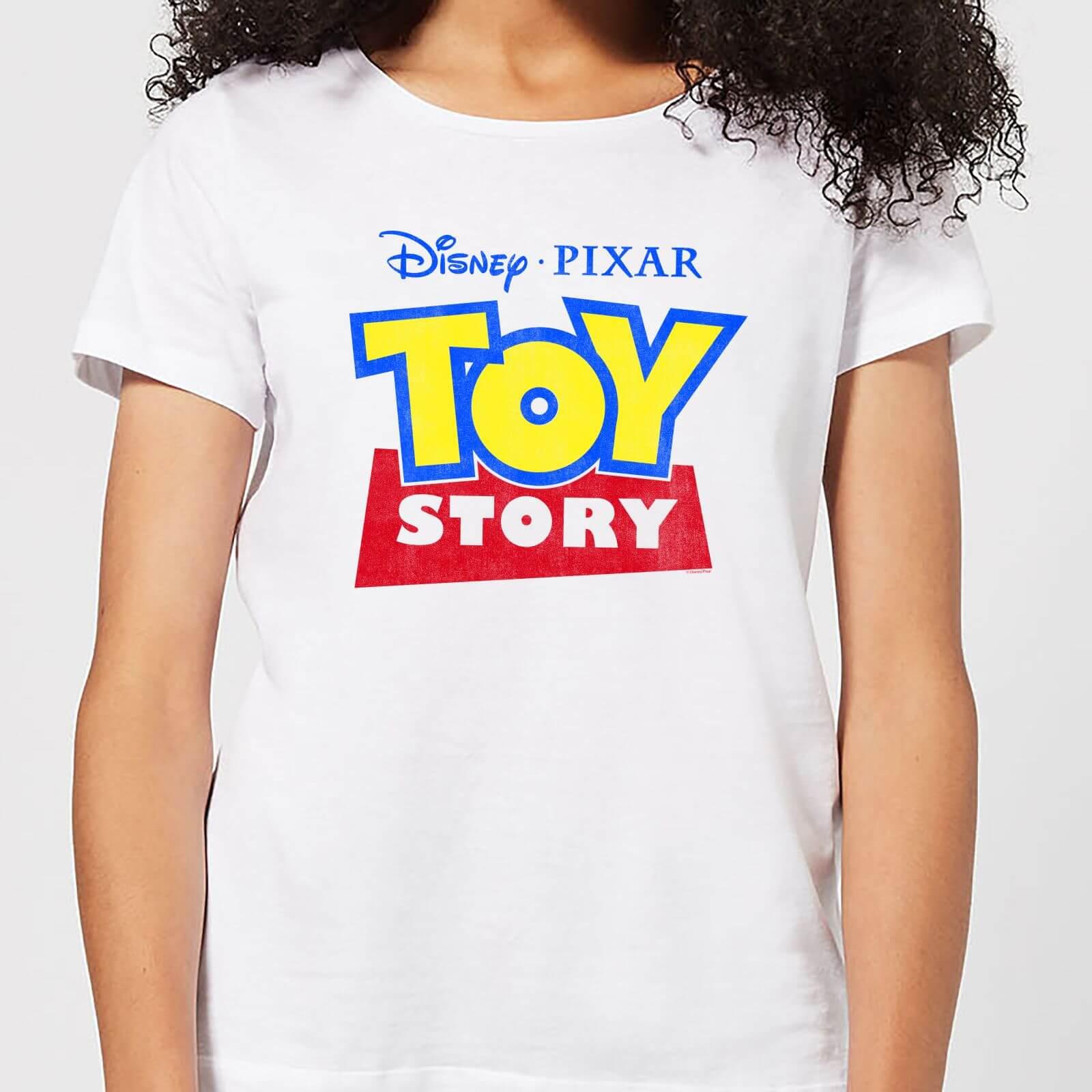 Toy Story Logo Damen T-Shirt - Weiß - 5XL - Weiß