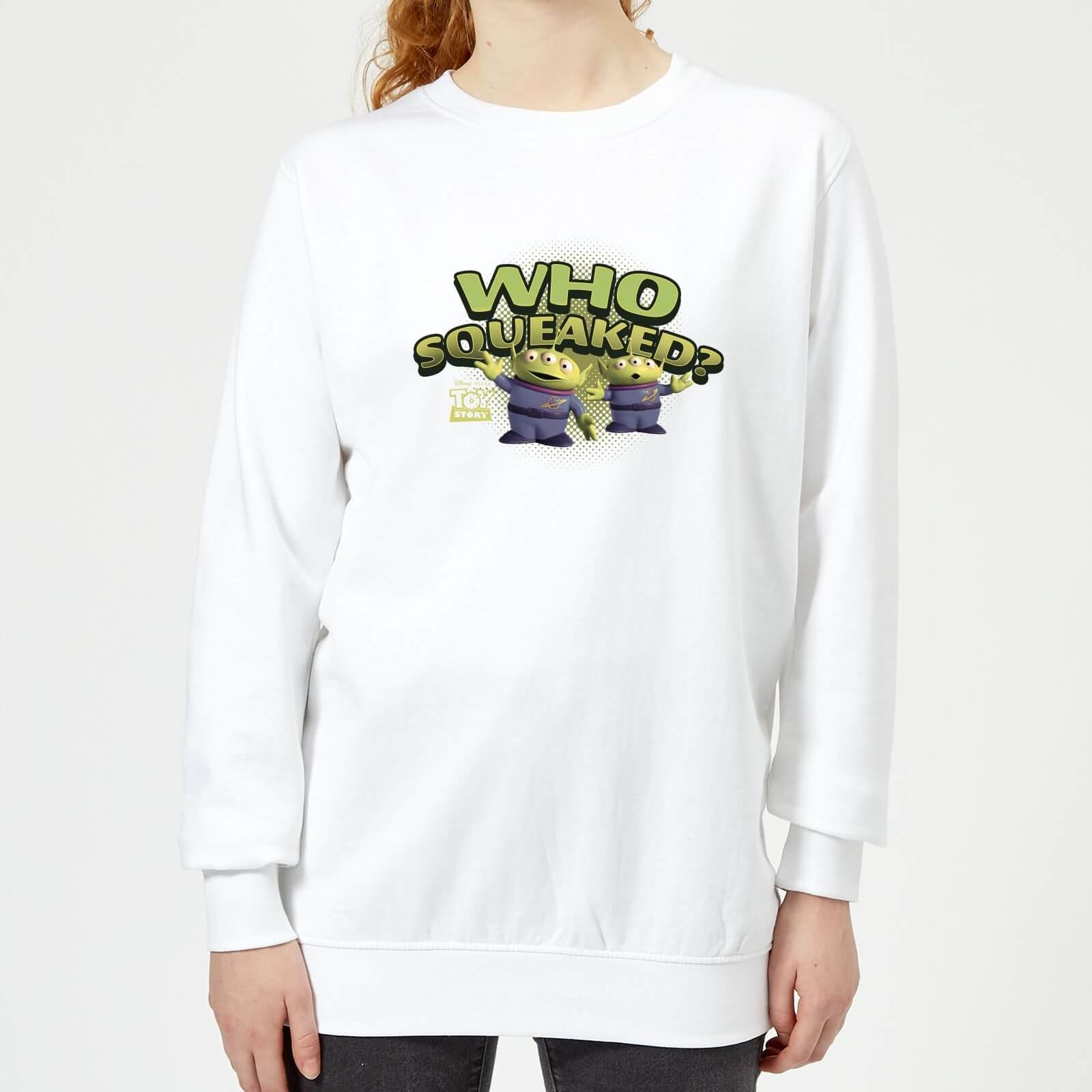 Toy Story Who Squeaked Damen Pullover - Weiß - XL - Weiß