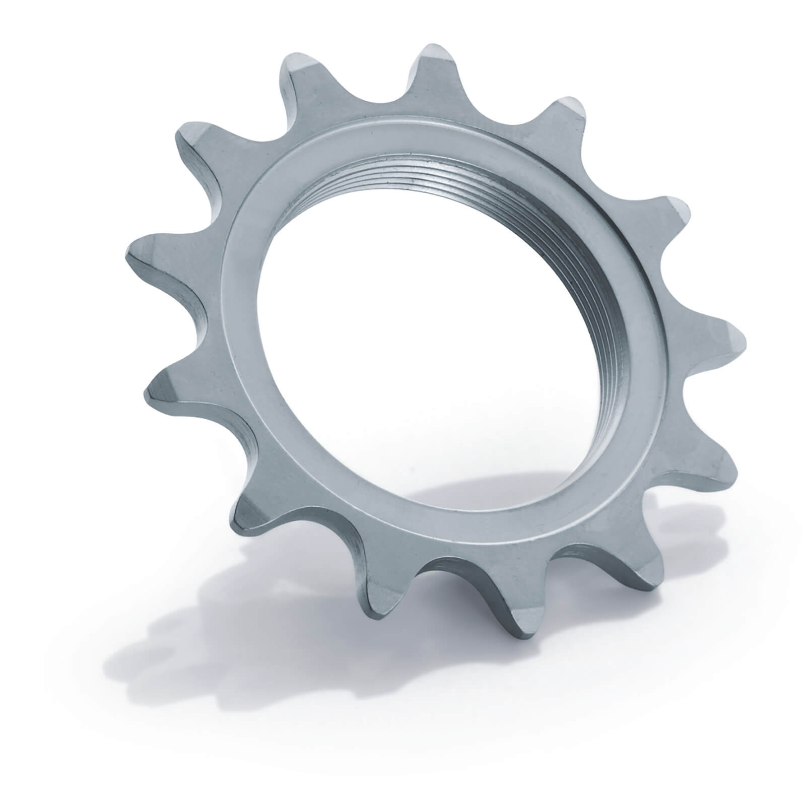 Miche Integrated Track Sprocket - 15T - 1/8 Inch - Silver
