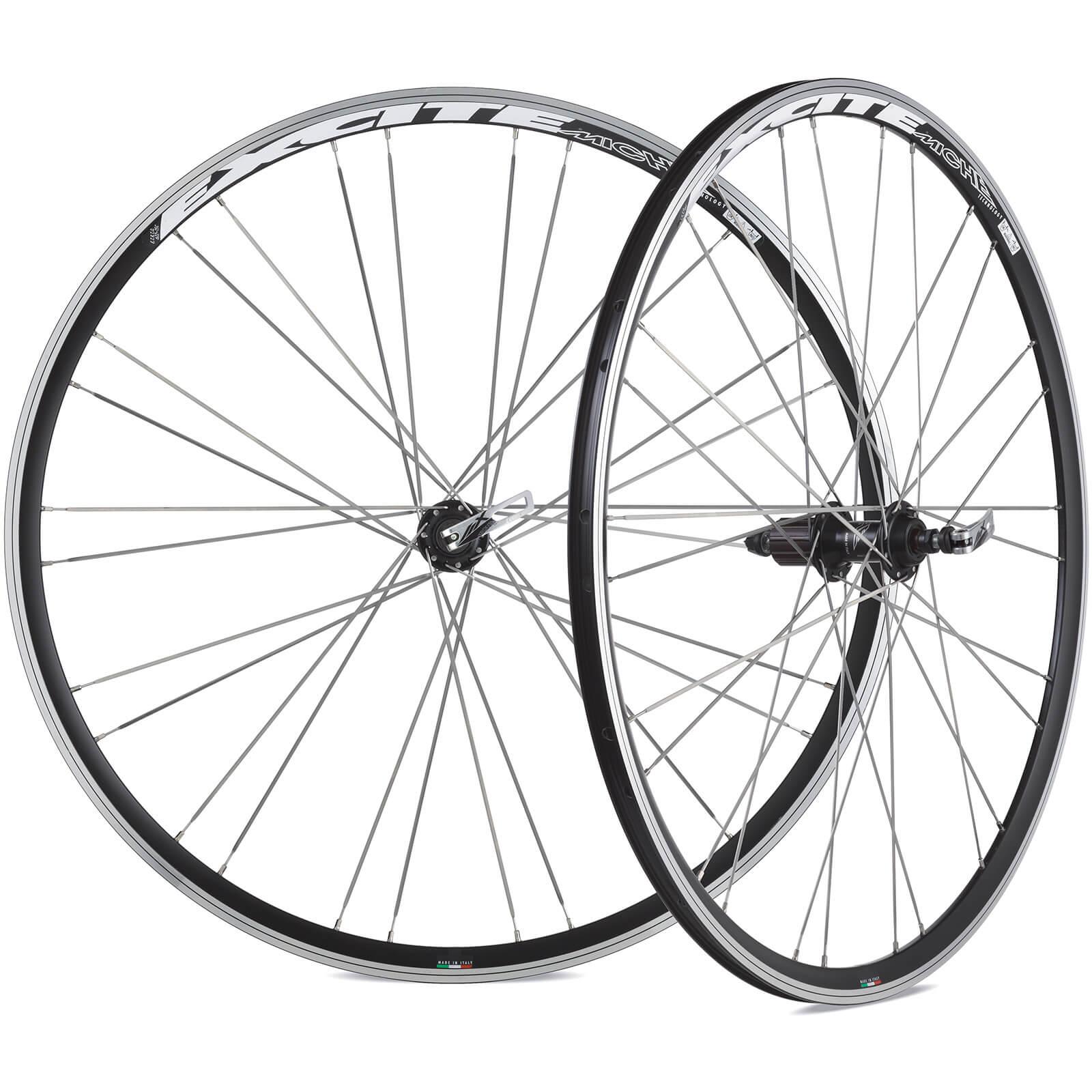 Miche Excite Wheelset - 700c - Black - Shimano